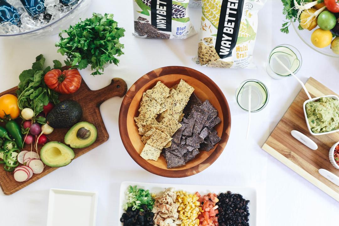 Way Better Snacks and Crystalin Marie Nacho Recipe