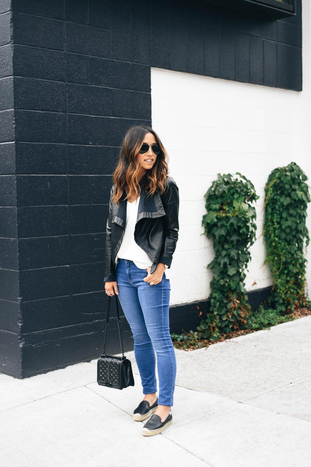 Crystalin Marie wearing Topshop Moto Leigh - Summer Pansy Crop Skinny Jeans