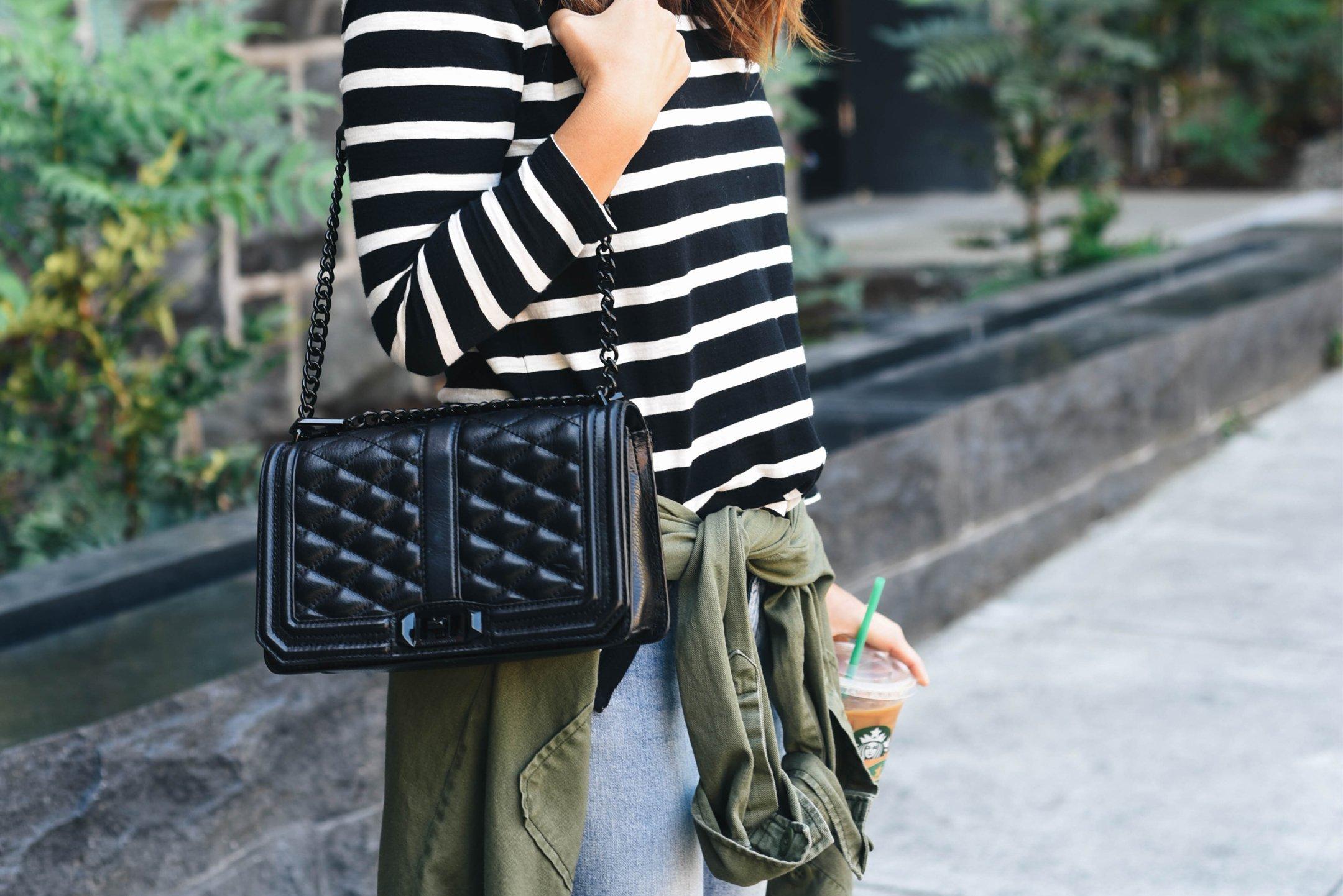Rebecca Minkoff Love Black shoulder bag