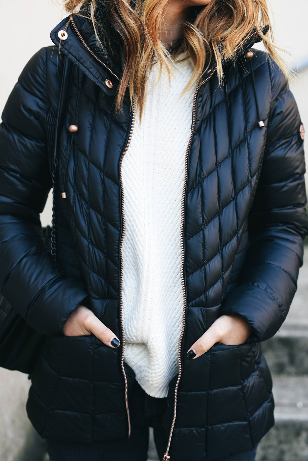 crystalin-marie-wearing-bernardo-packable-jacket-with-down-primaloft-fill