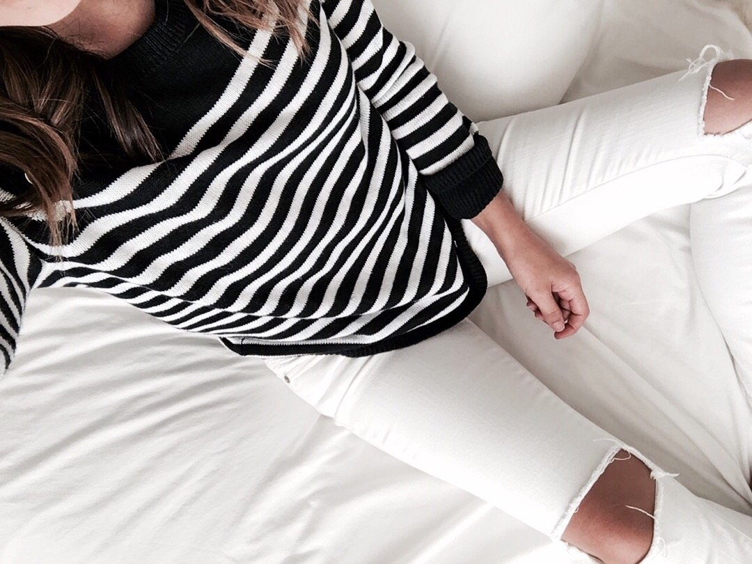 J.Crew Factory stripe sweater