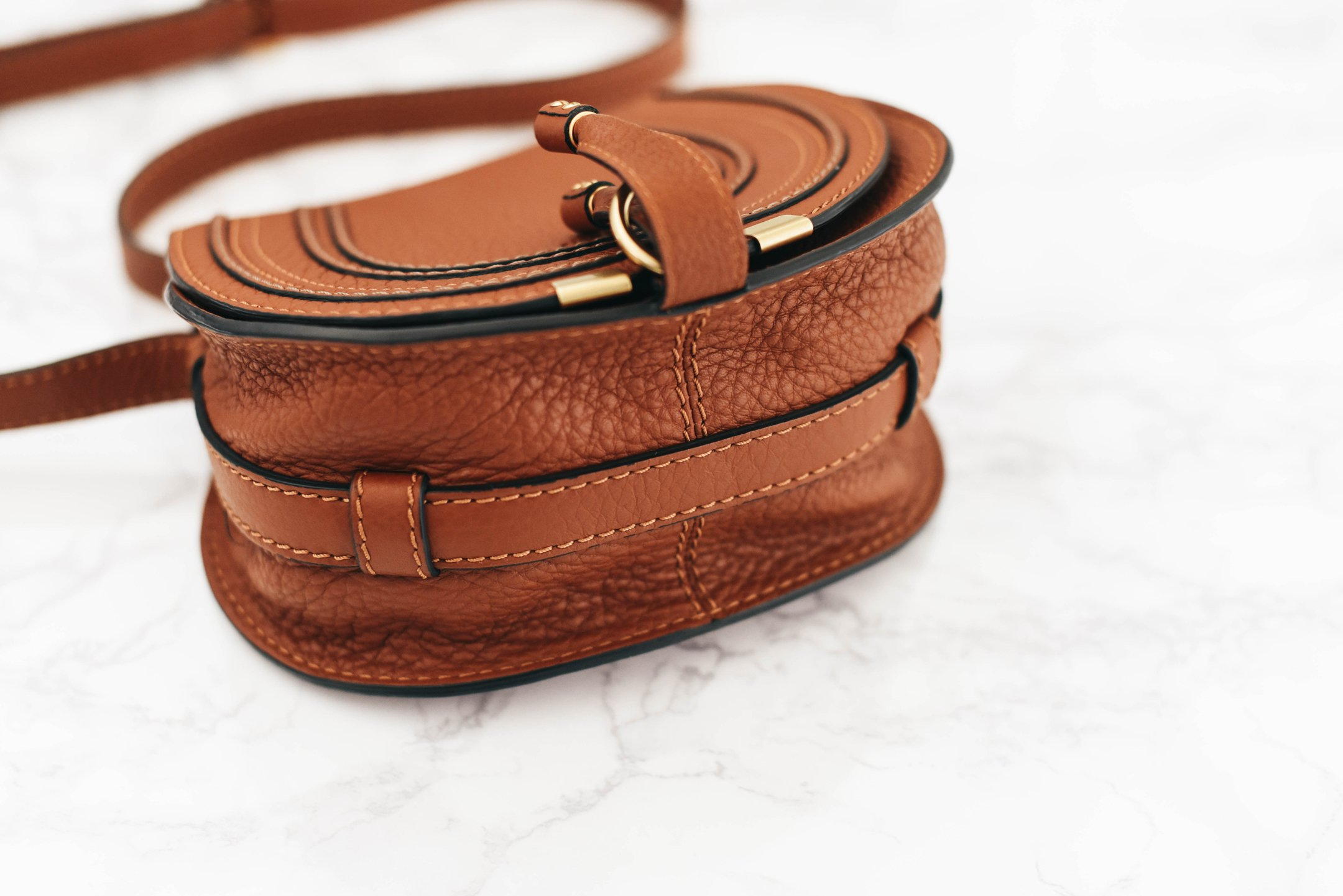 59f6255909 What's in my Bag + Chloé 'Small Marcie' Leather Crossbody Bag Review ...