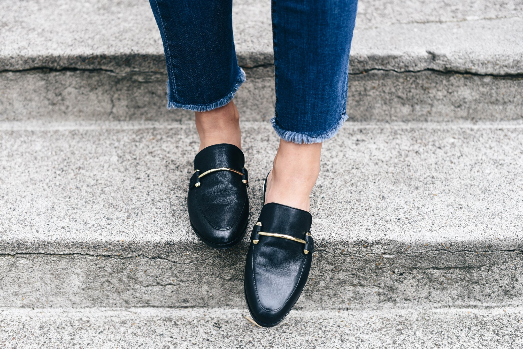 steve-madden-black-loafers