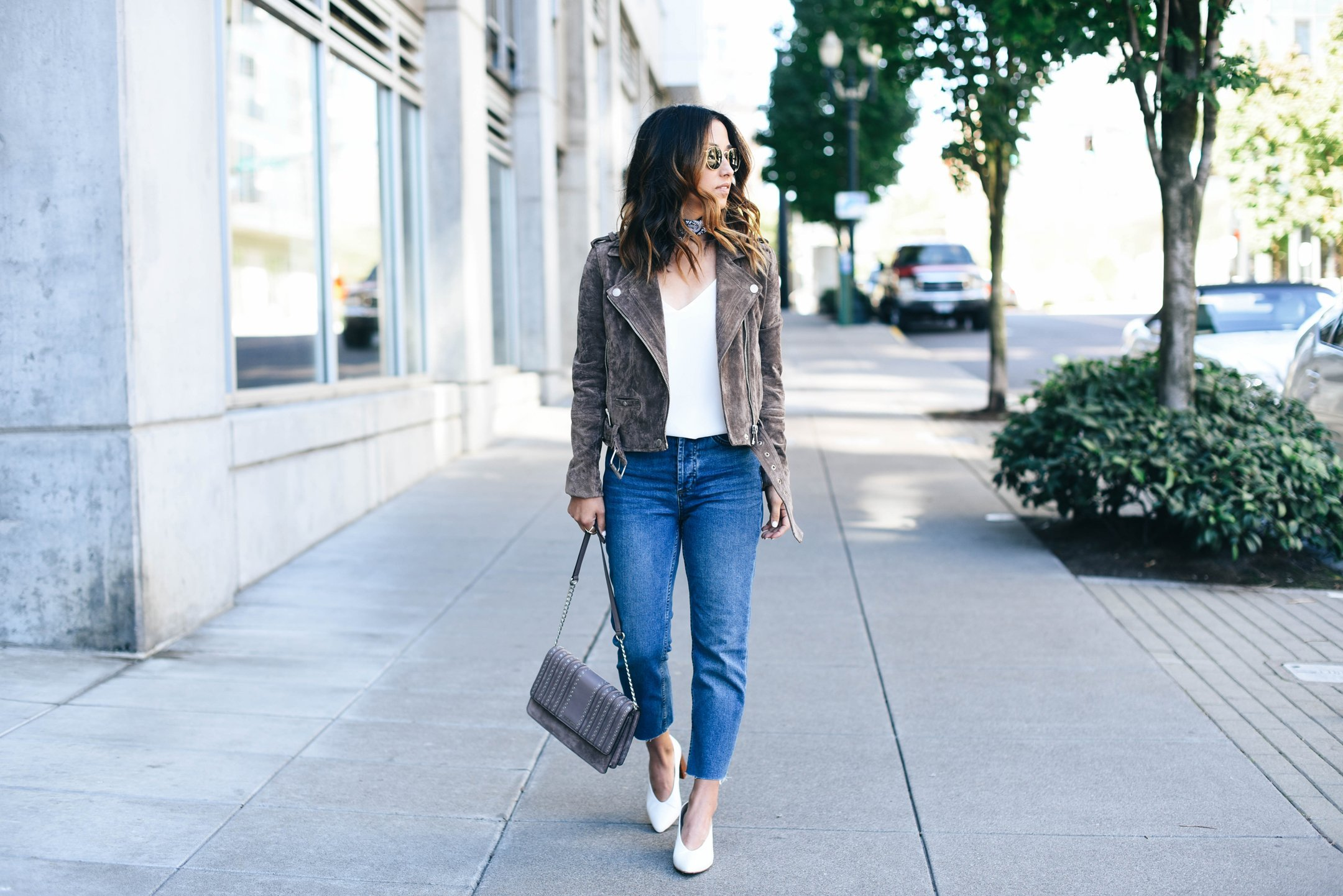 17fc67b485b Topshop Raw Hem Straight Leg Jeans Review - Crystalin Marie