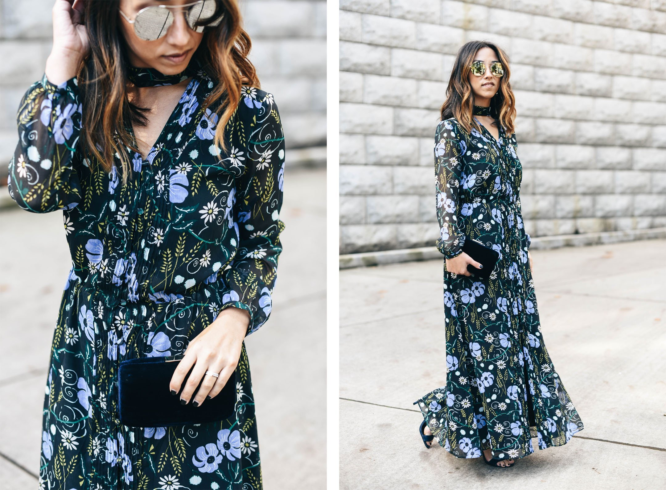 crystalin-marie-wearing-banana-republic-floral-maxi-dress