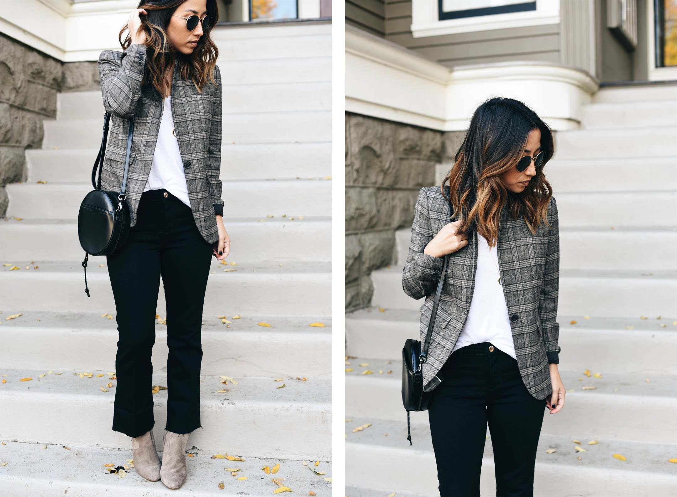 crystalin-marie-wearing-banana-republic-plaid-blazer
