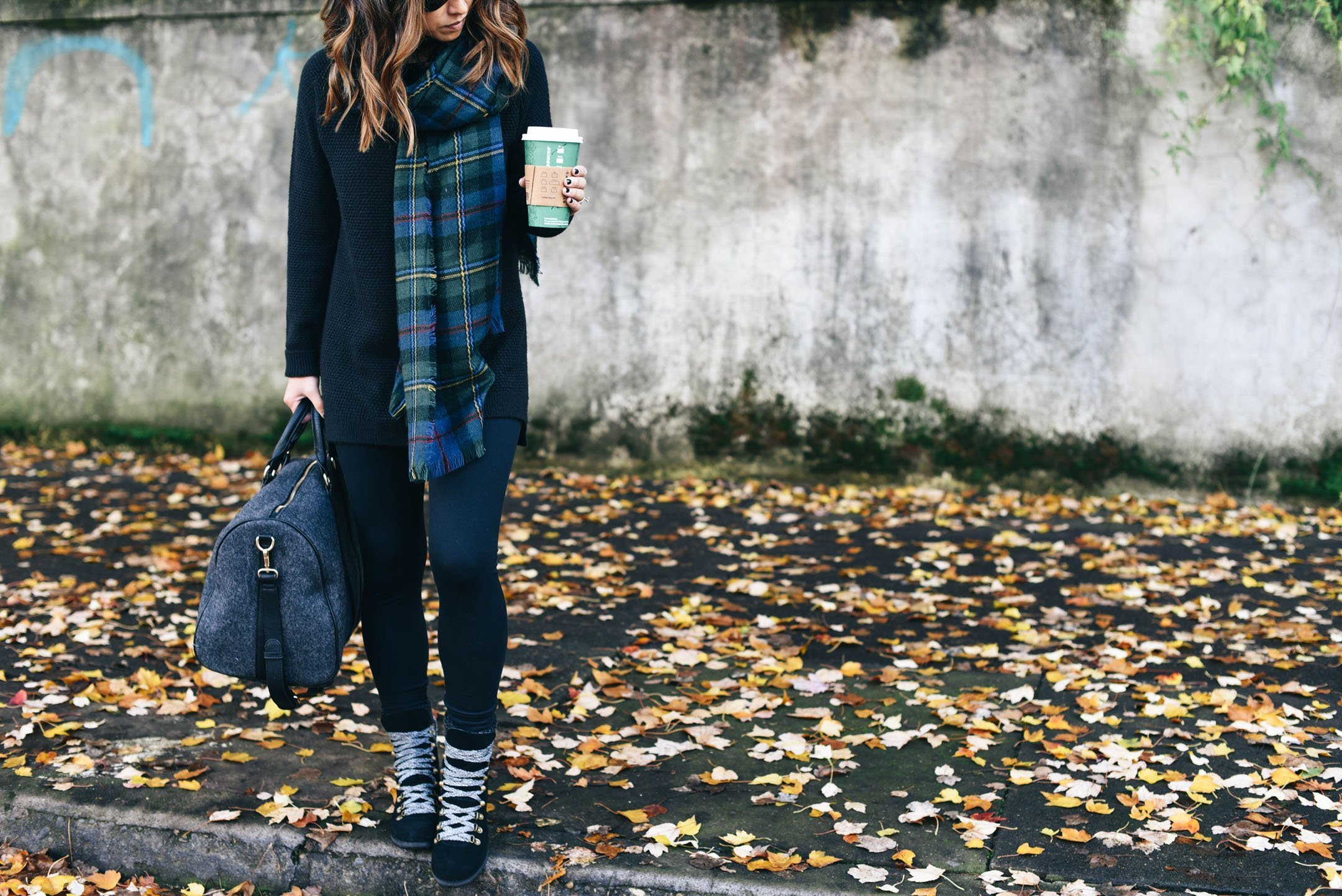 crystalin-marie-wearing-sole-society-plaid-green-scarf