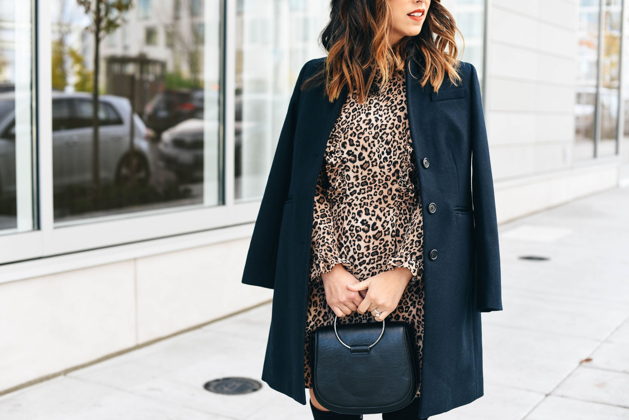 crystalin-marie-wearing-topshop-leopard-dress