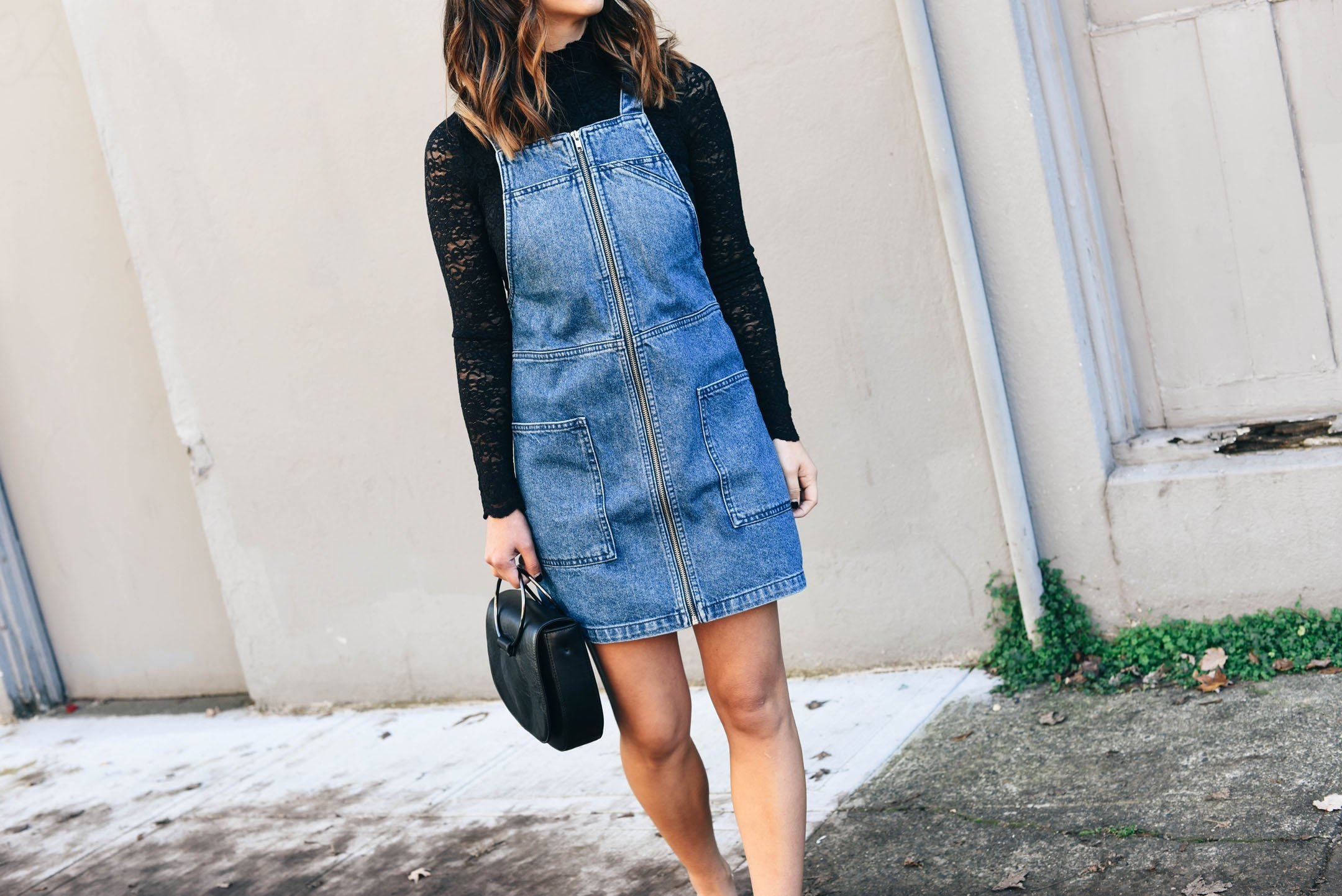 crystalin-marie-wearing-topshop-pinafore-dress