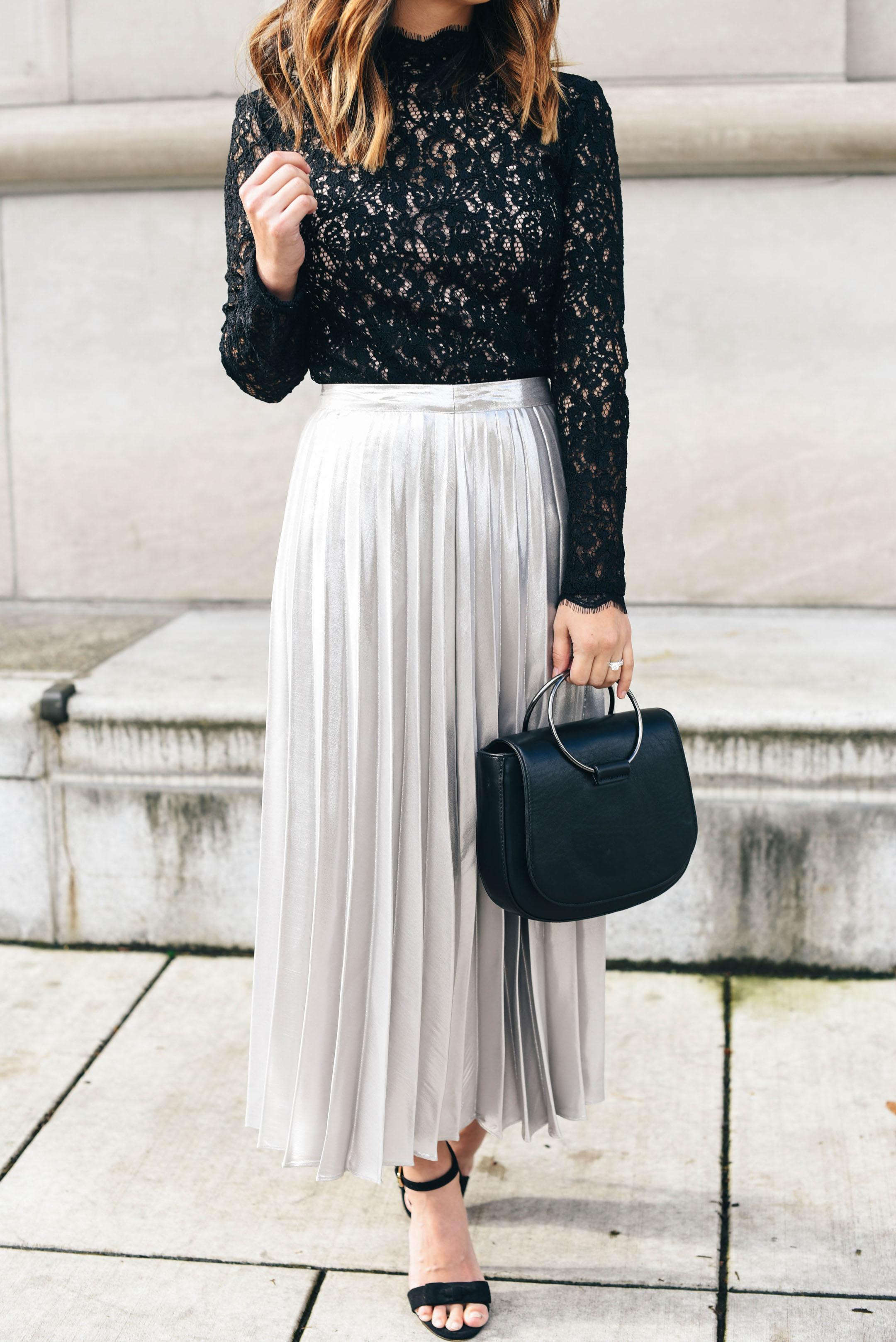 silver-pleated-midi-skirt-topshop