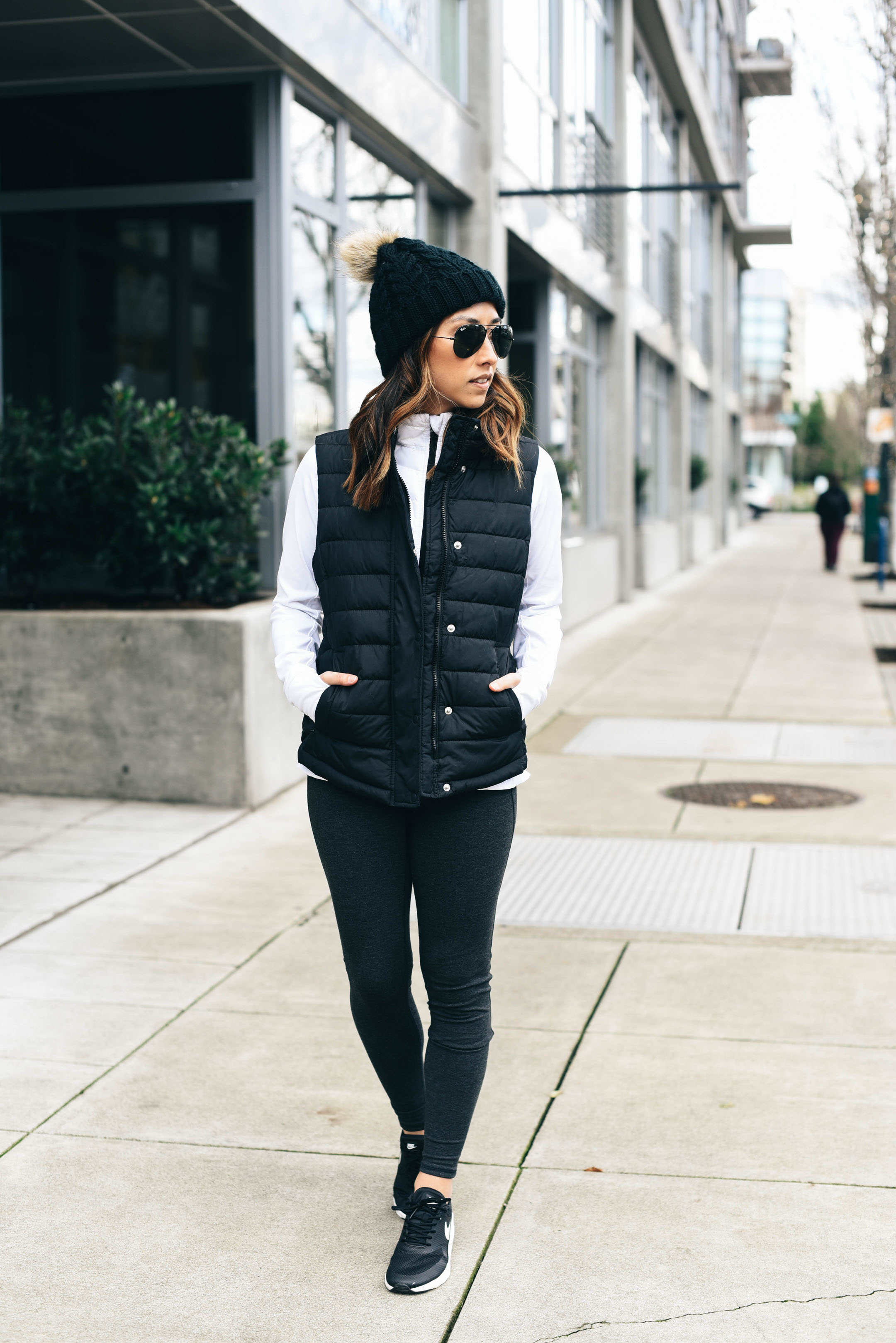 crystalin-marie-wearing-gap-factory-puffer-vest