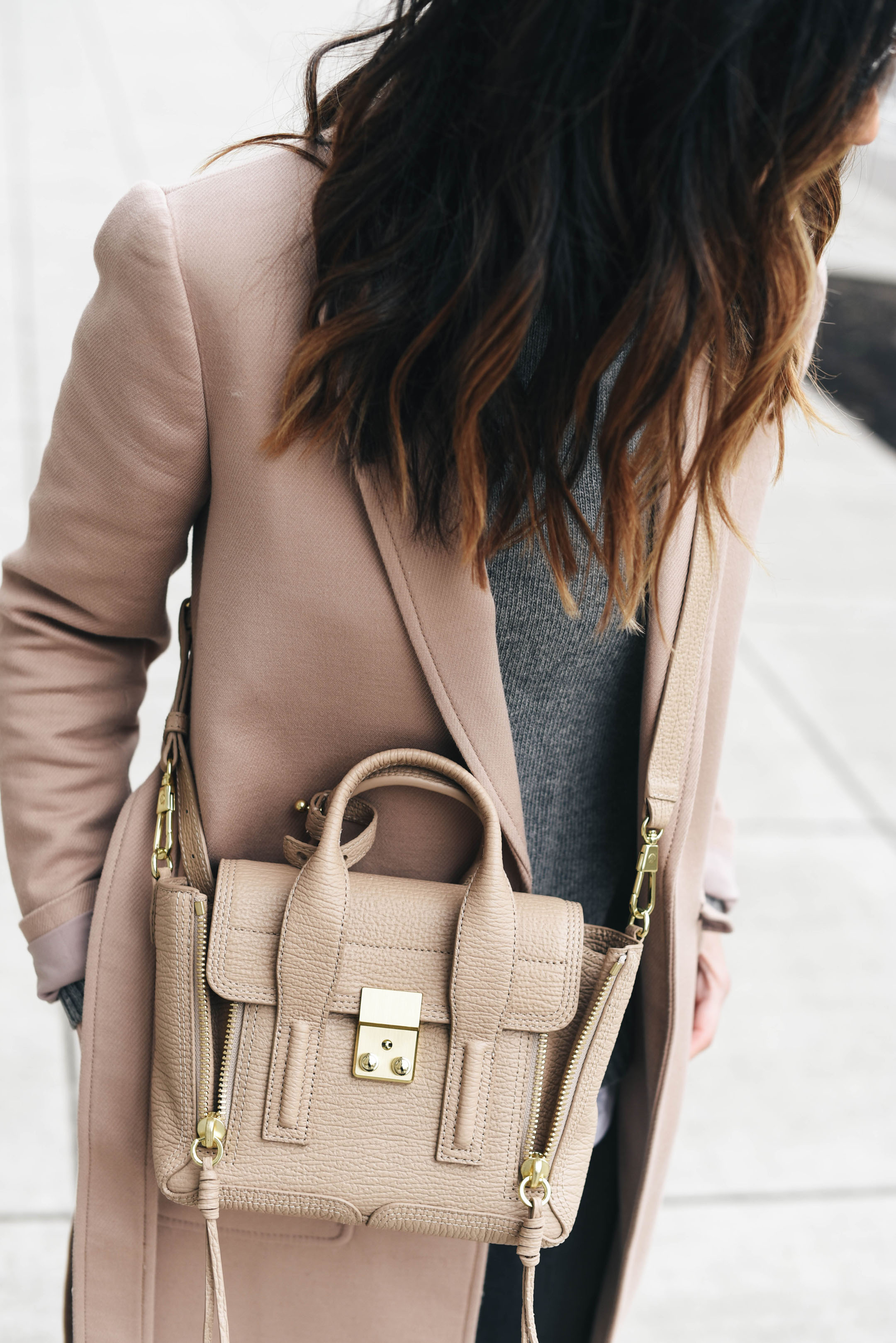 3.1 Phillip Lim Mini Pashli satchel in cashew