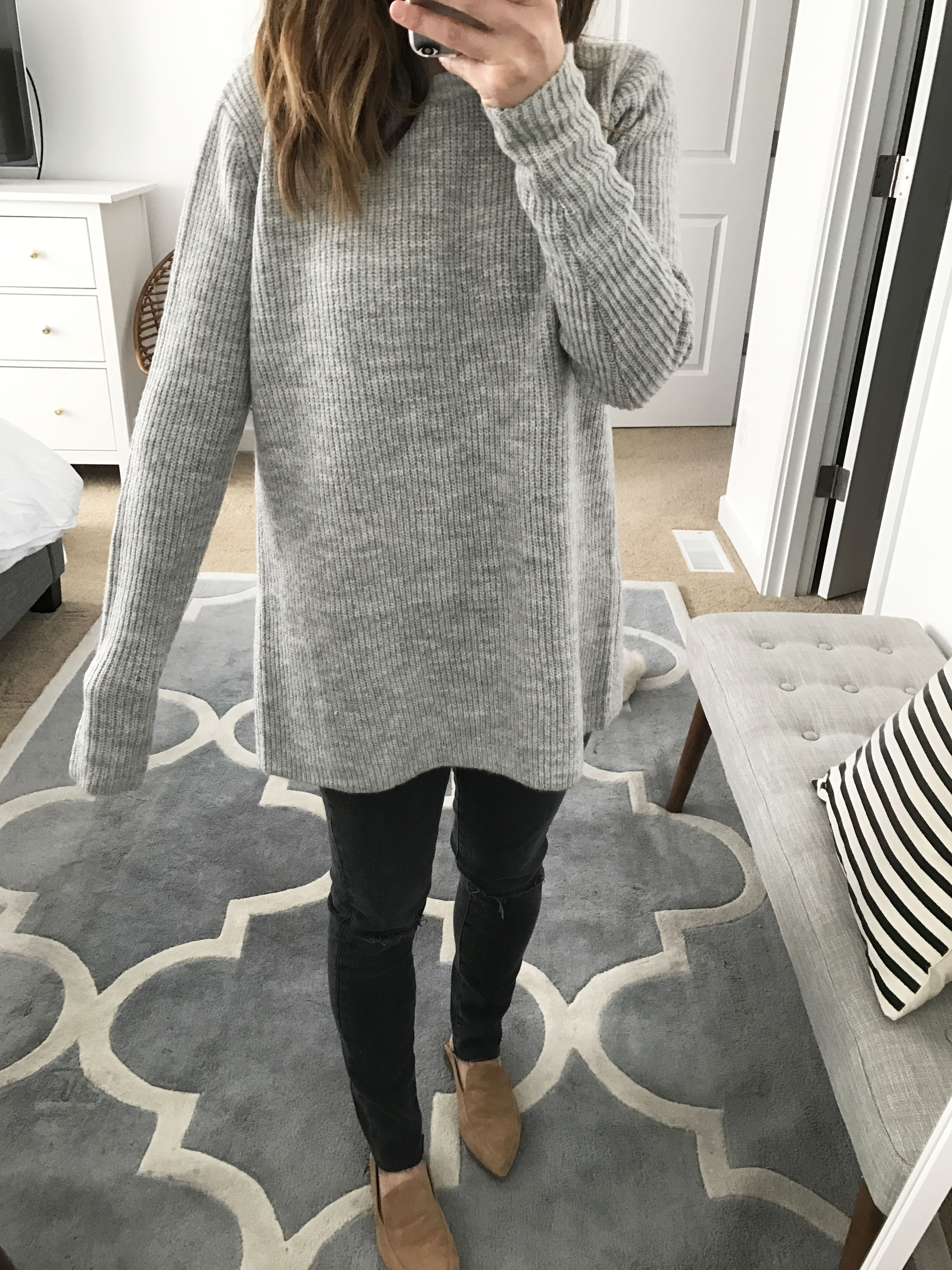 Asos tie back sweater