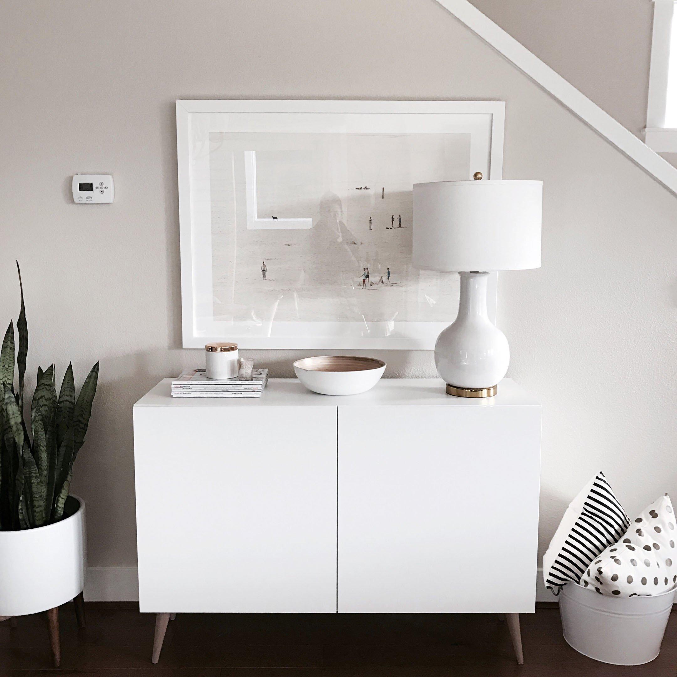 Ikea DIY console