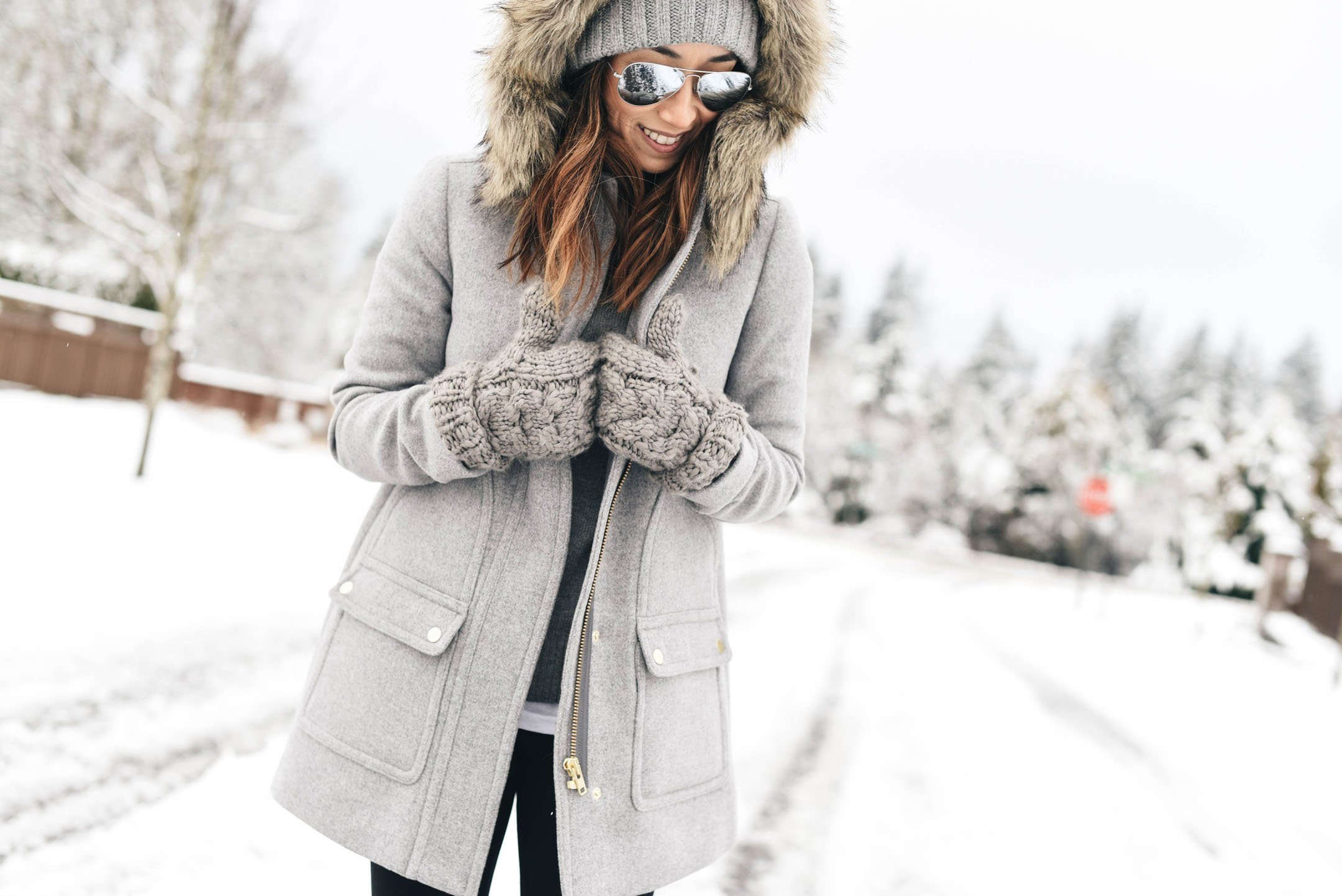 J.Crew factory gray coat 2