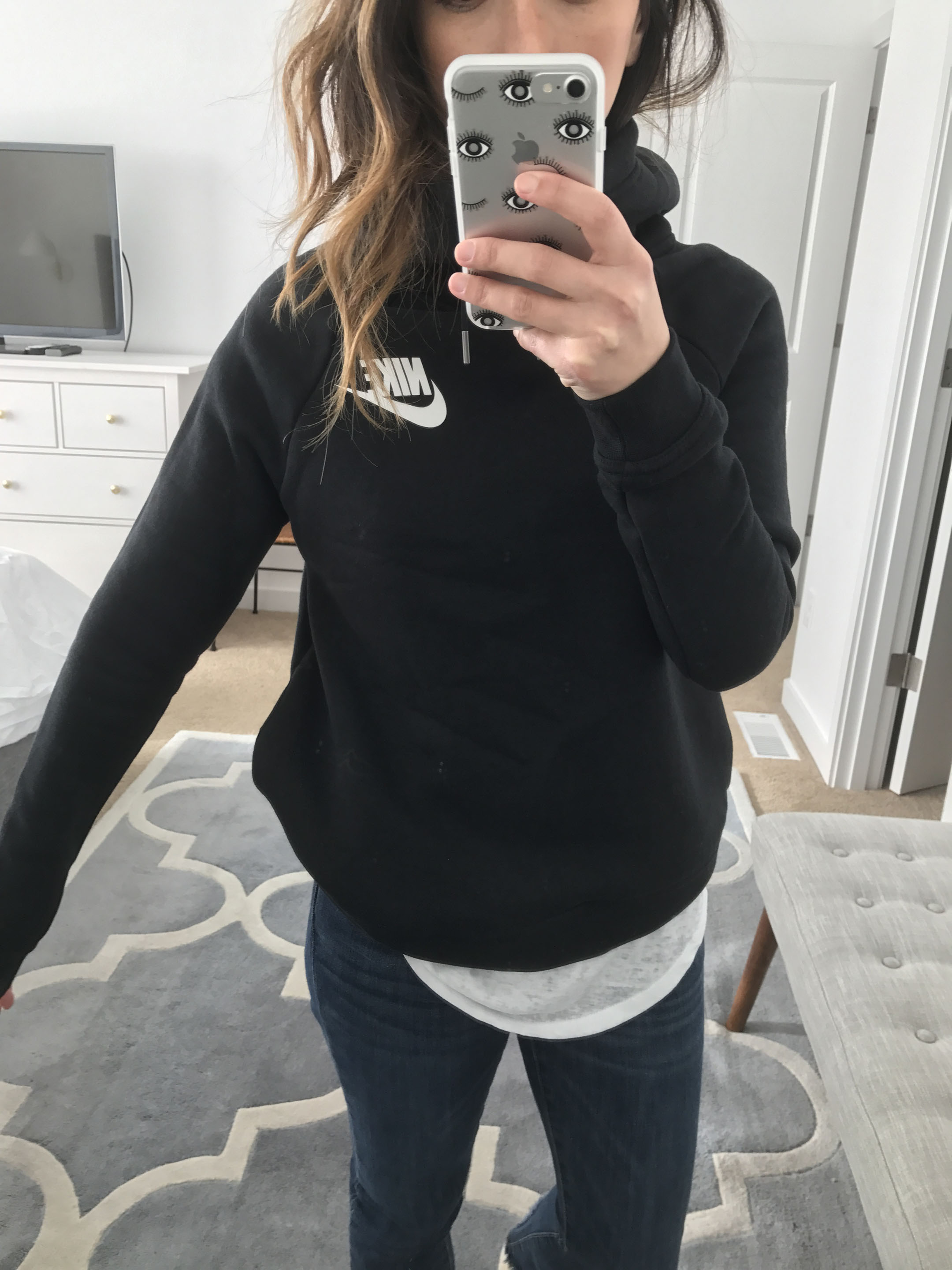 Nike Funnel Neck Rally sweatshirt 2