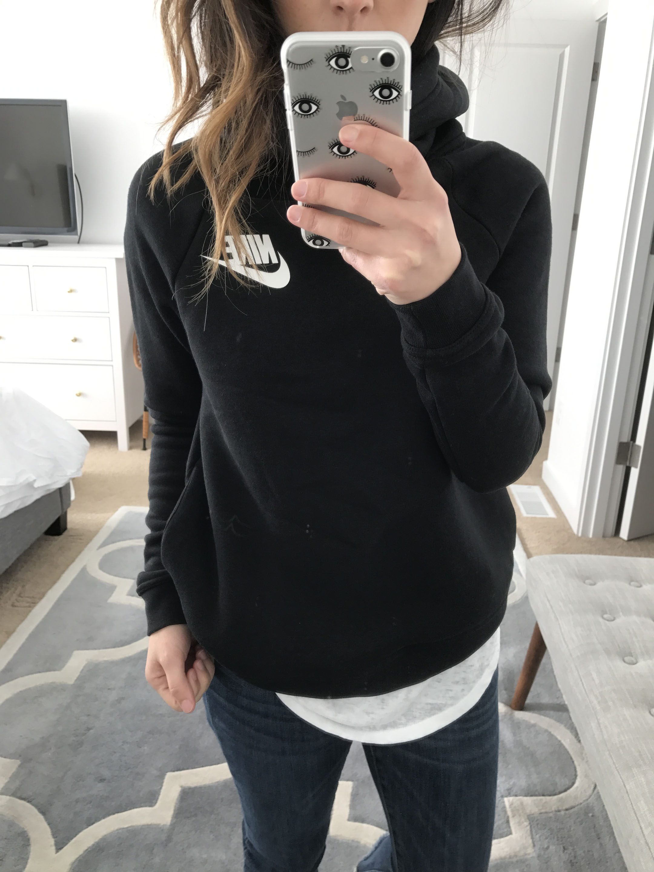 Nike Funnel Neck Rally sweatshirt
