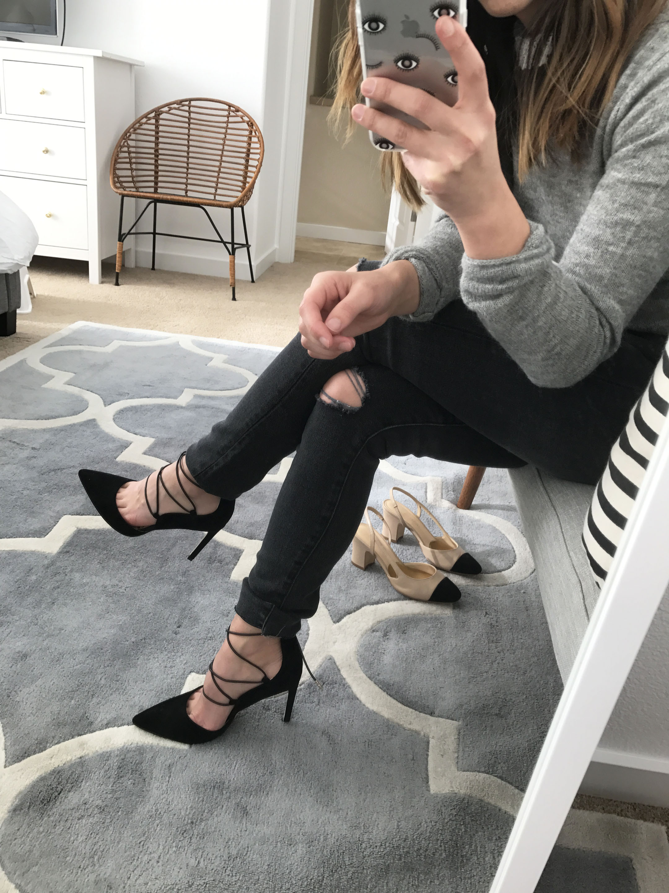 Sam Edelman lace up pumps