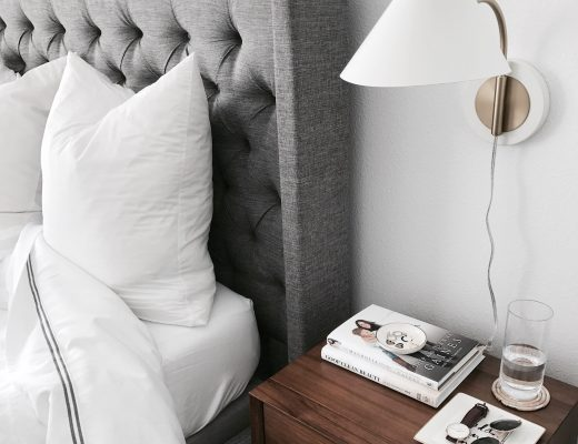 West Elm mid century nightstands