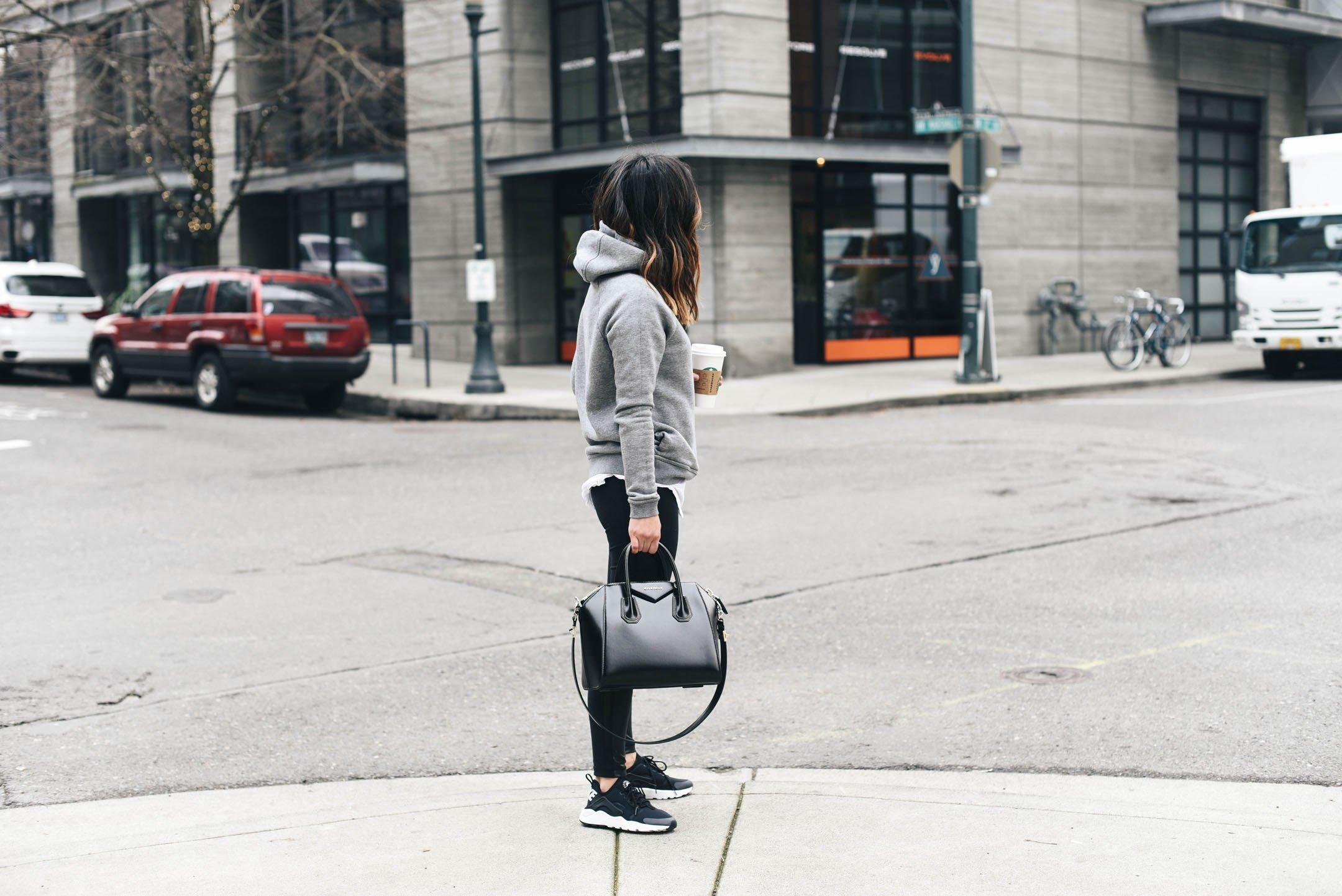 Zella faux leather leggings