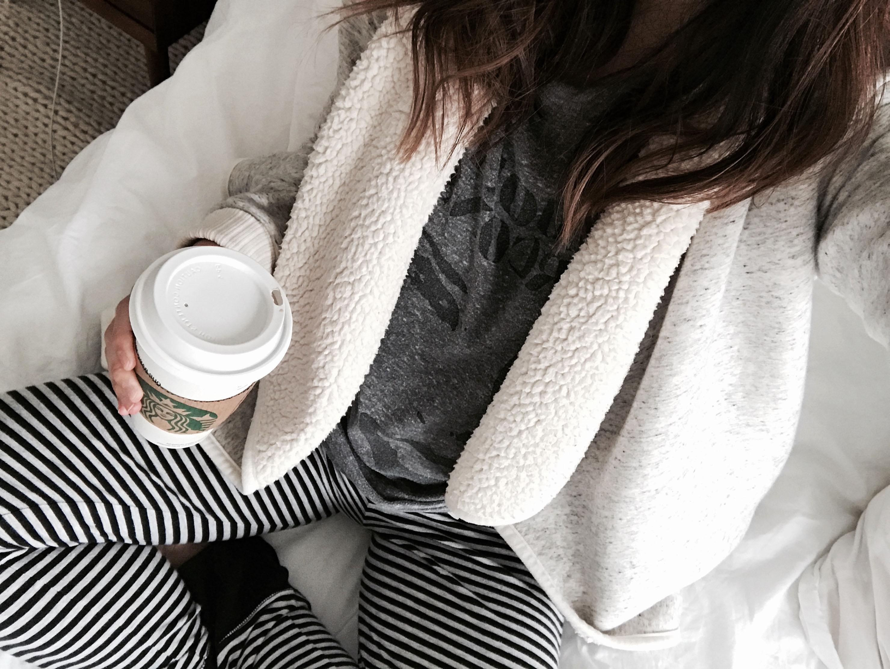 Abercrombie & Fitch fleece cardigan