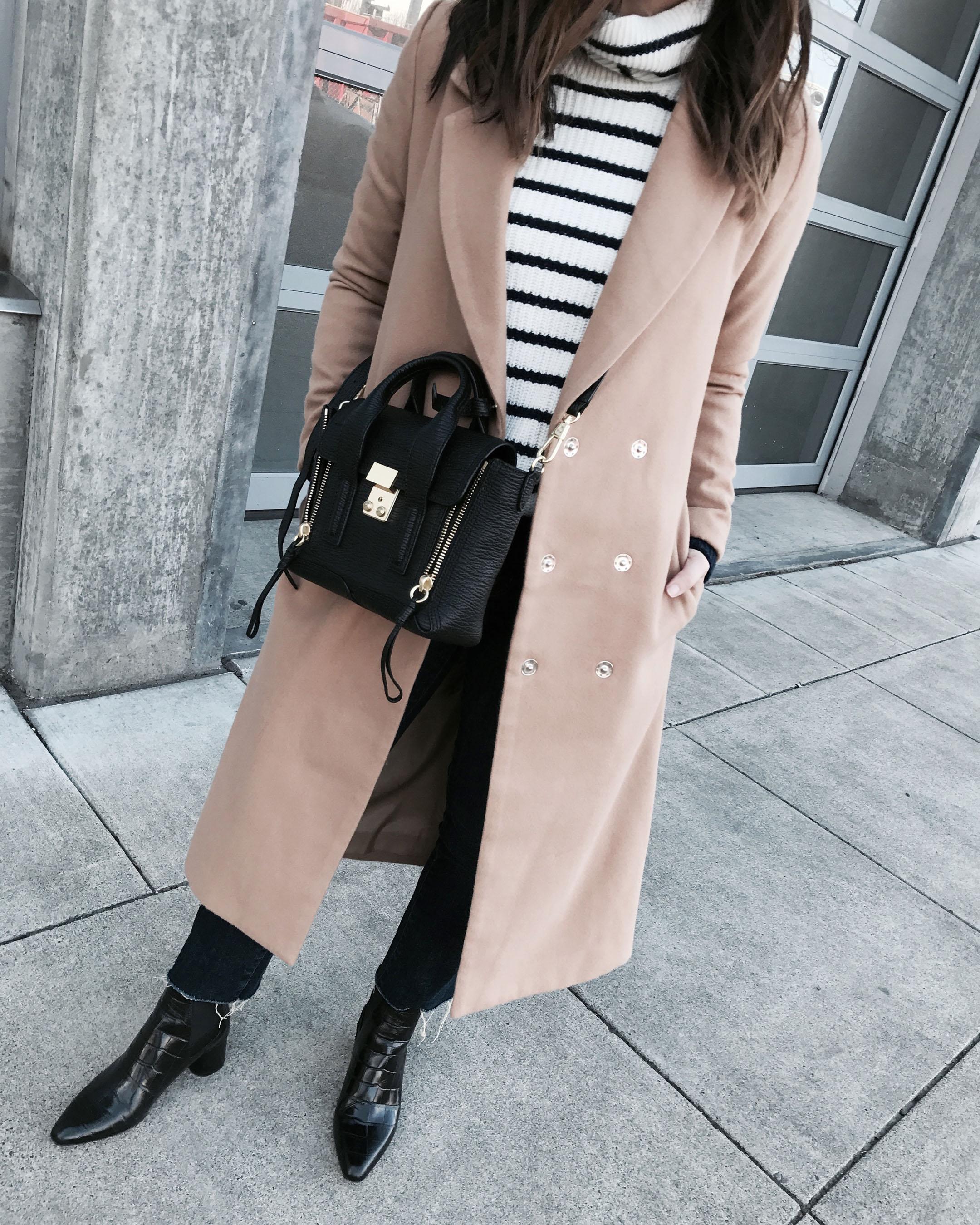 Boohoo petite longline coat