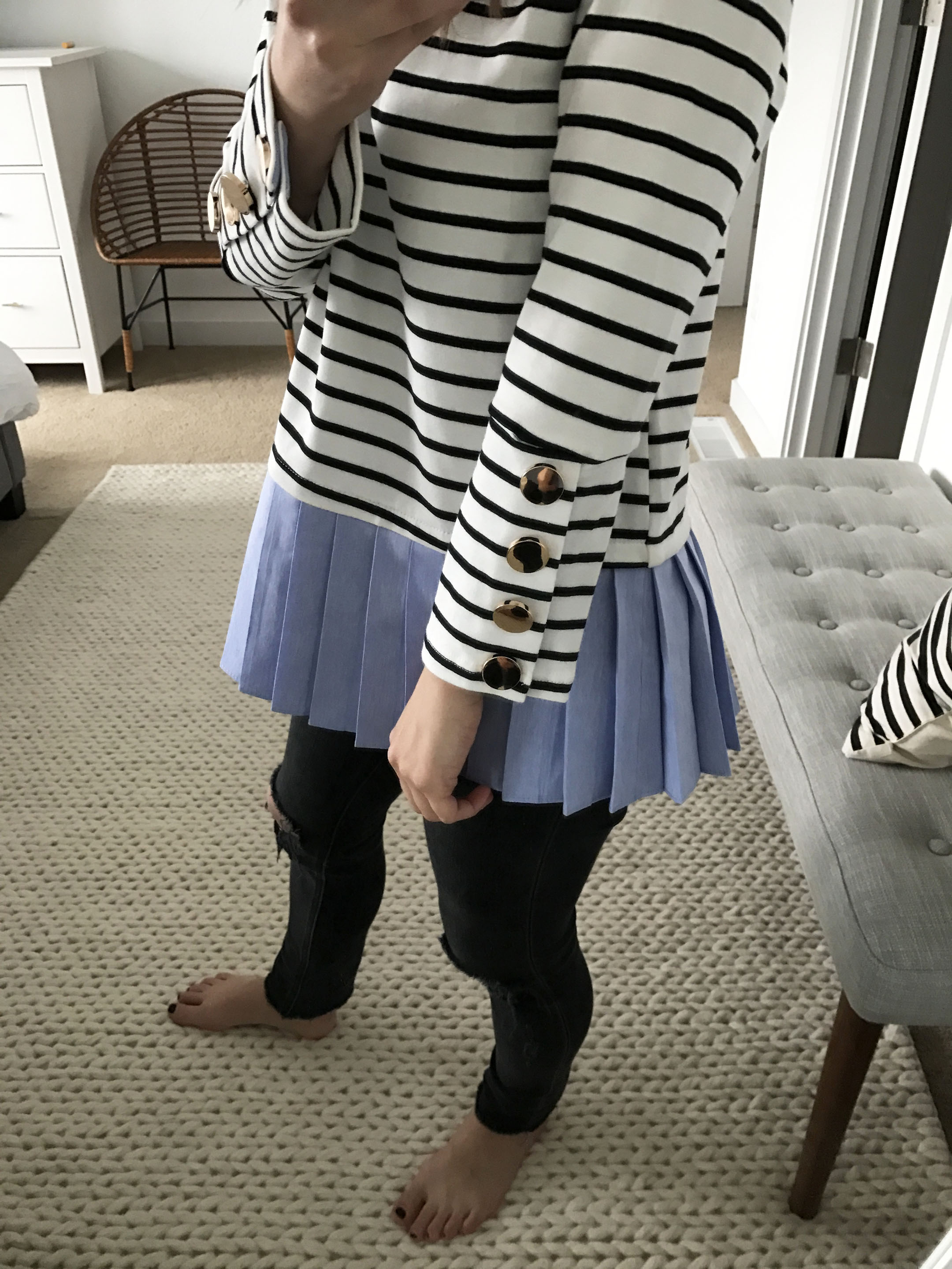 English Factory stripe top 2