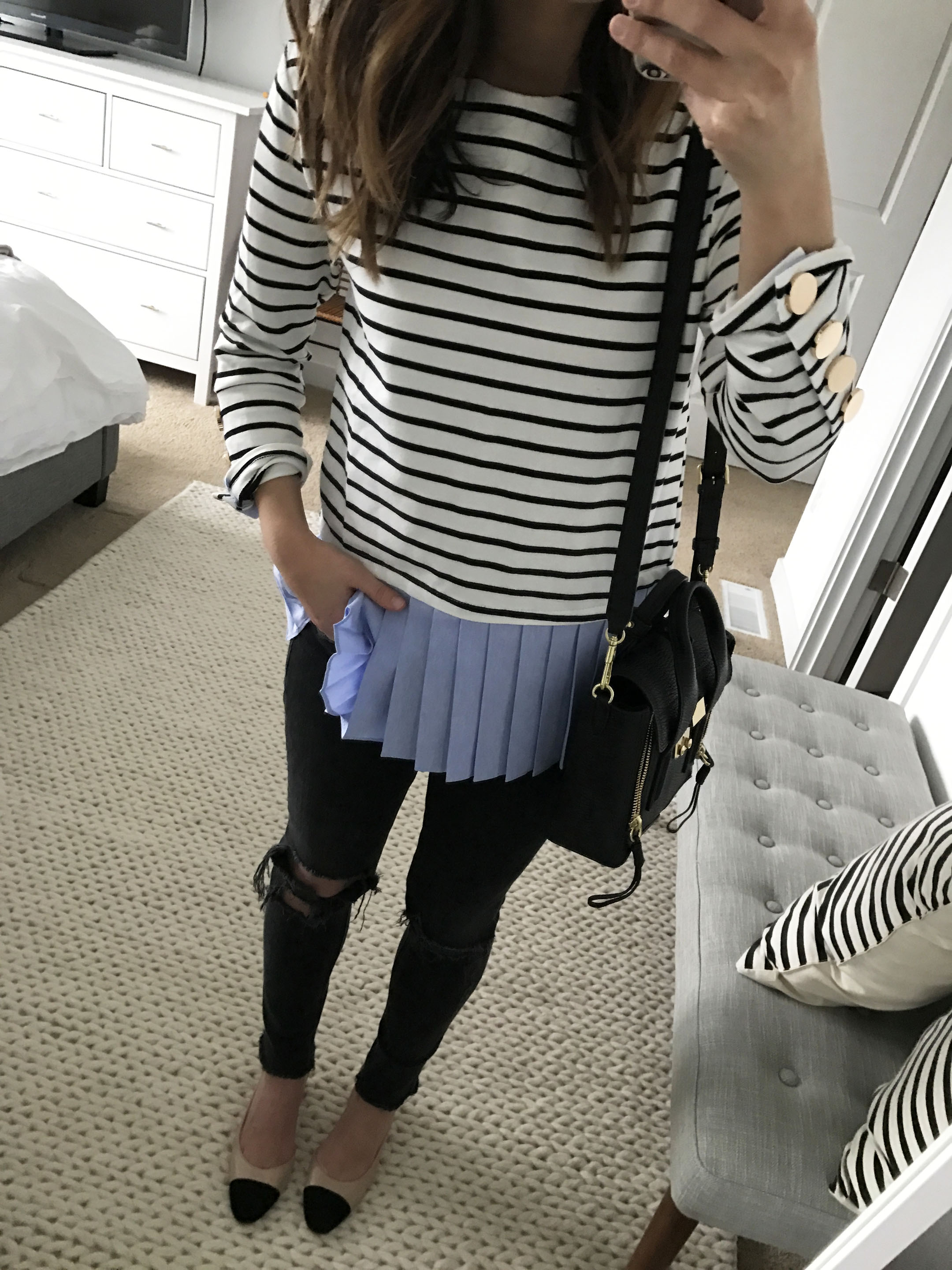 English Factory stripe top 3