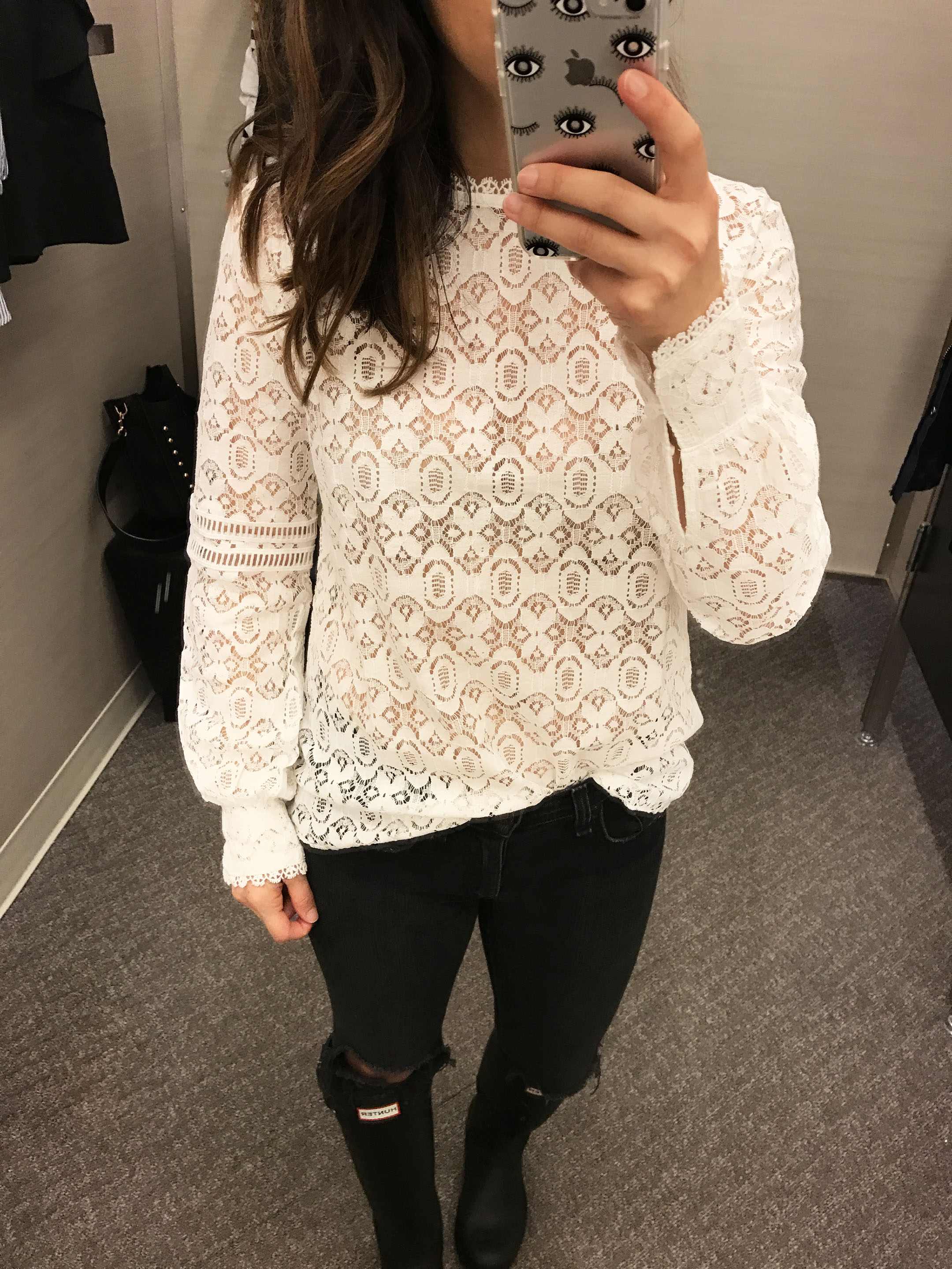 Hinge lace blouse 2