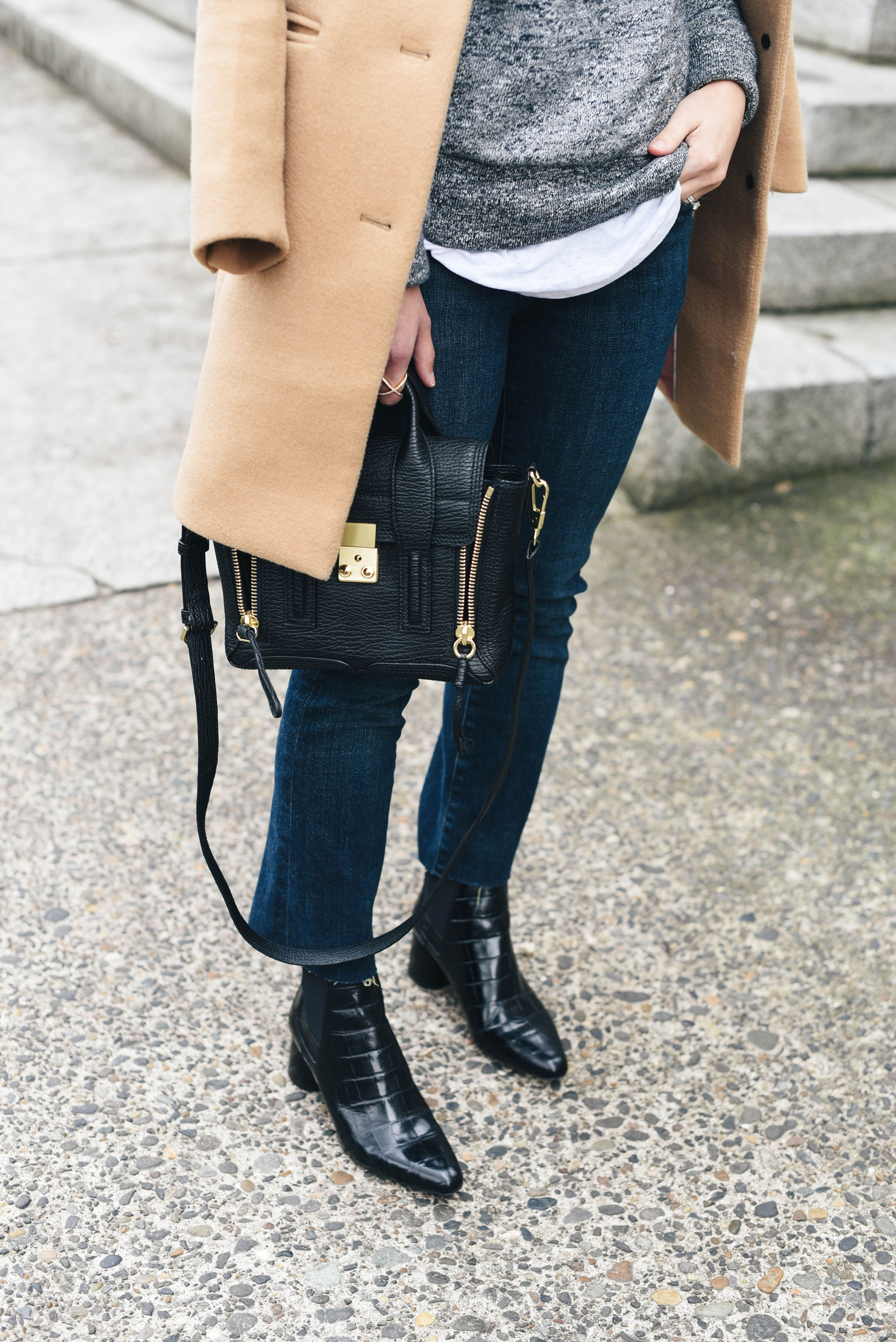 J Brand Cropped flares