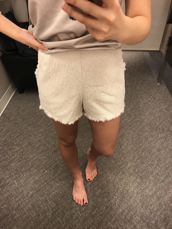 JOA fringe shorts 4