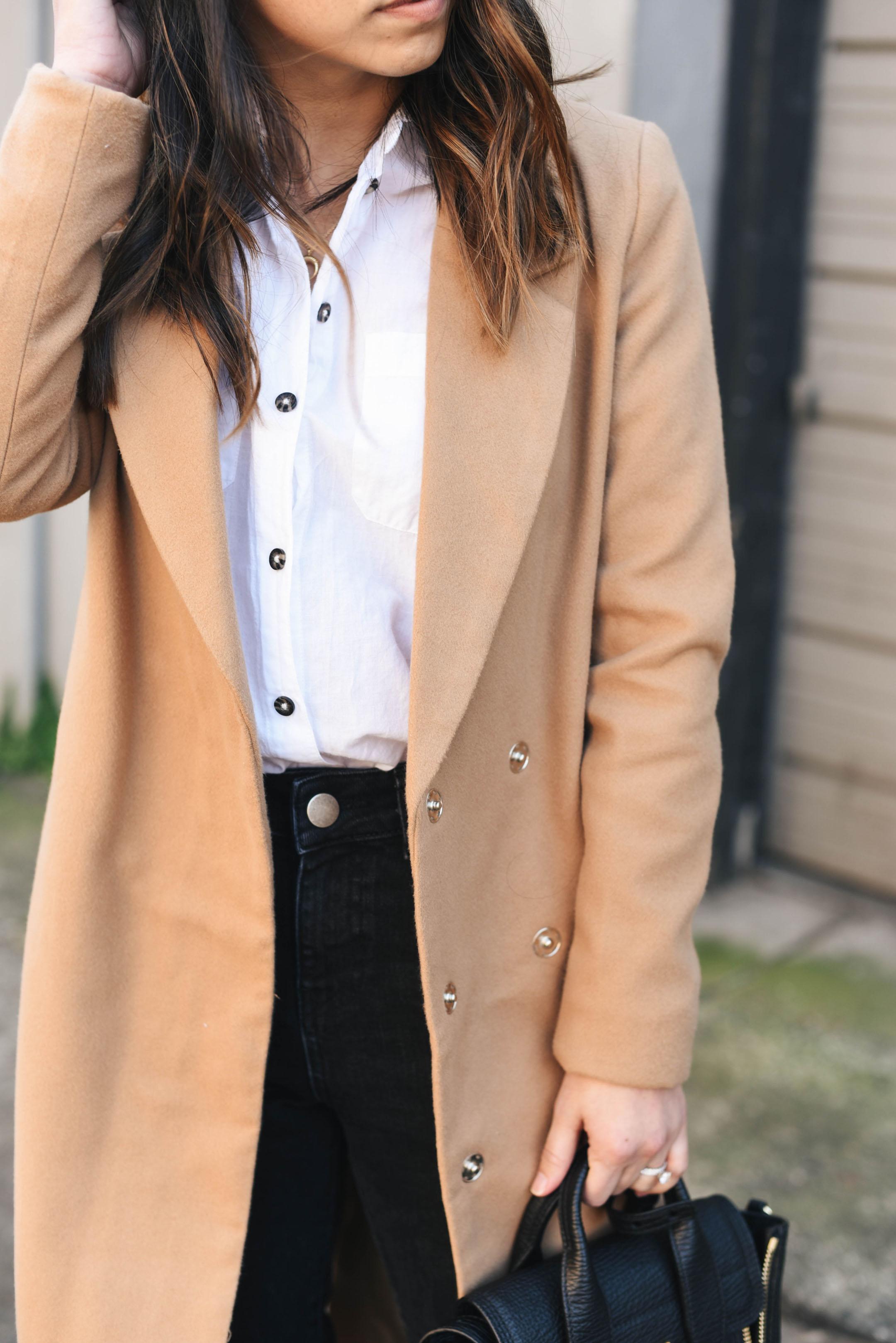 Petite longline coat