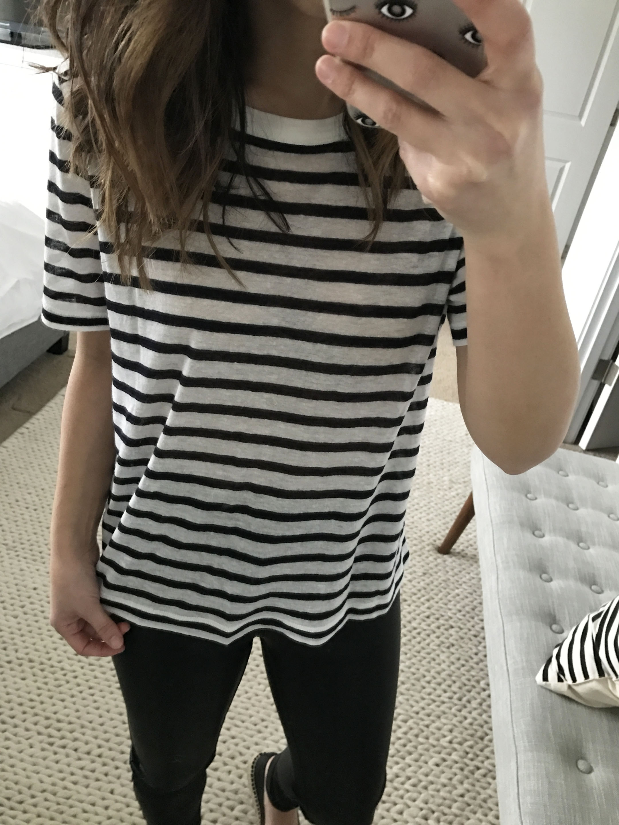 T By Alexander Wang striped tee 2