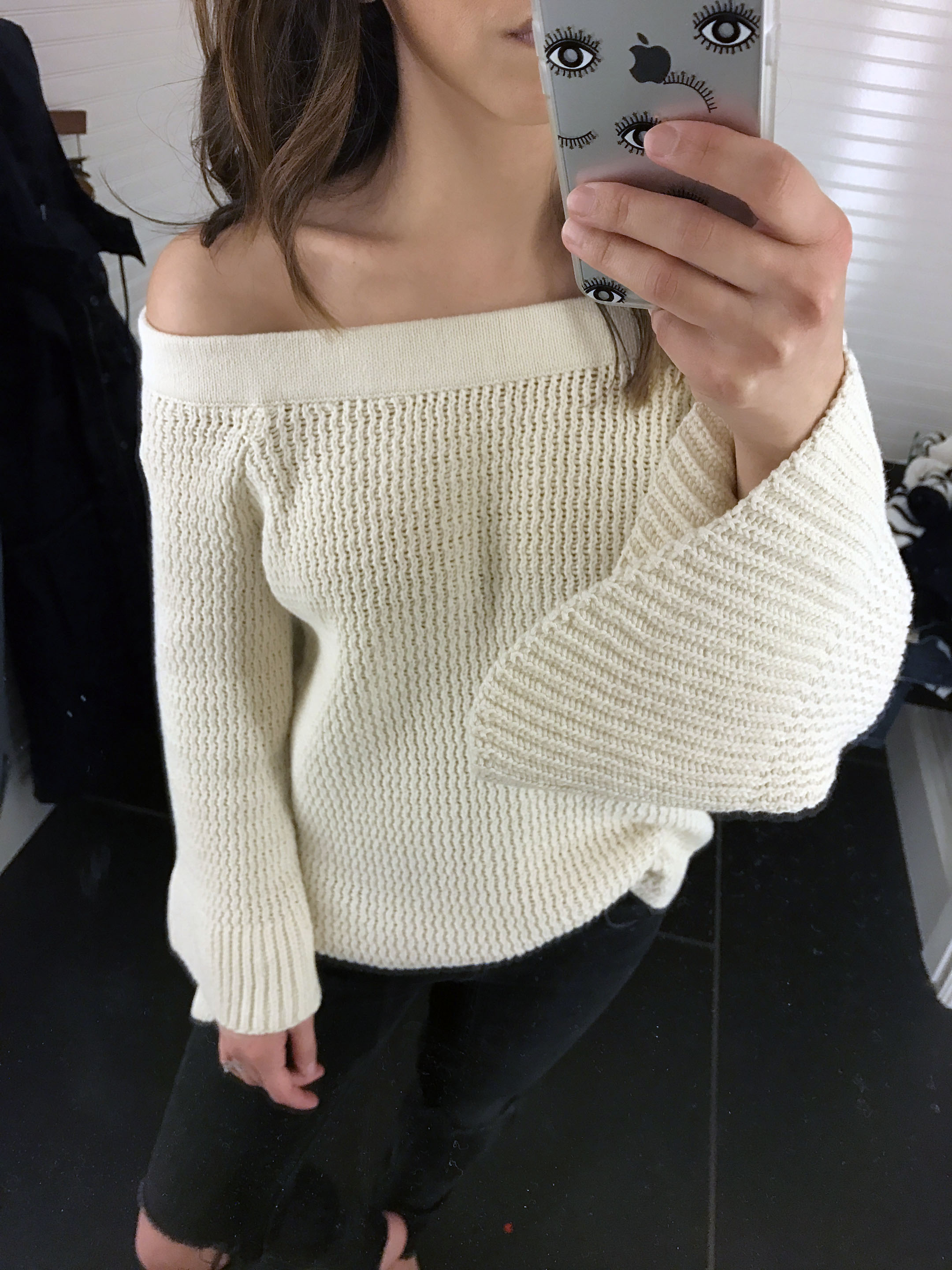 abercrombie & Fitch bell sleeve sweater. 3