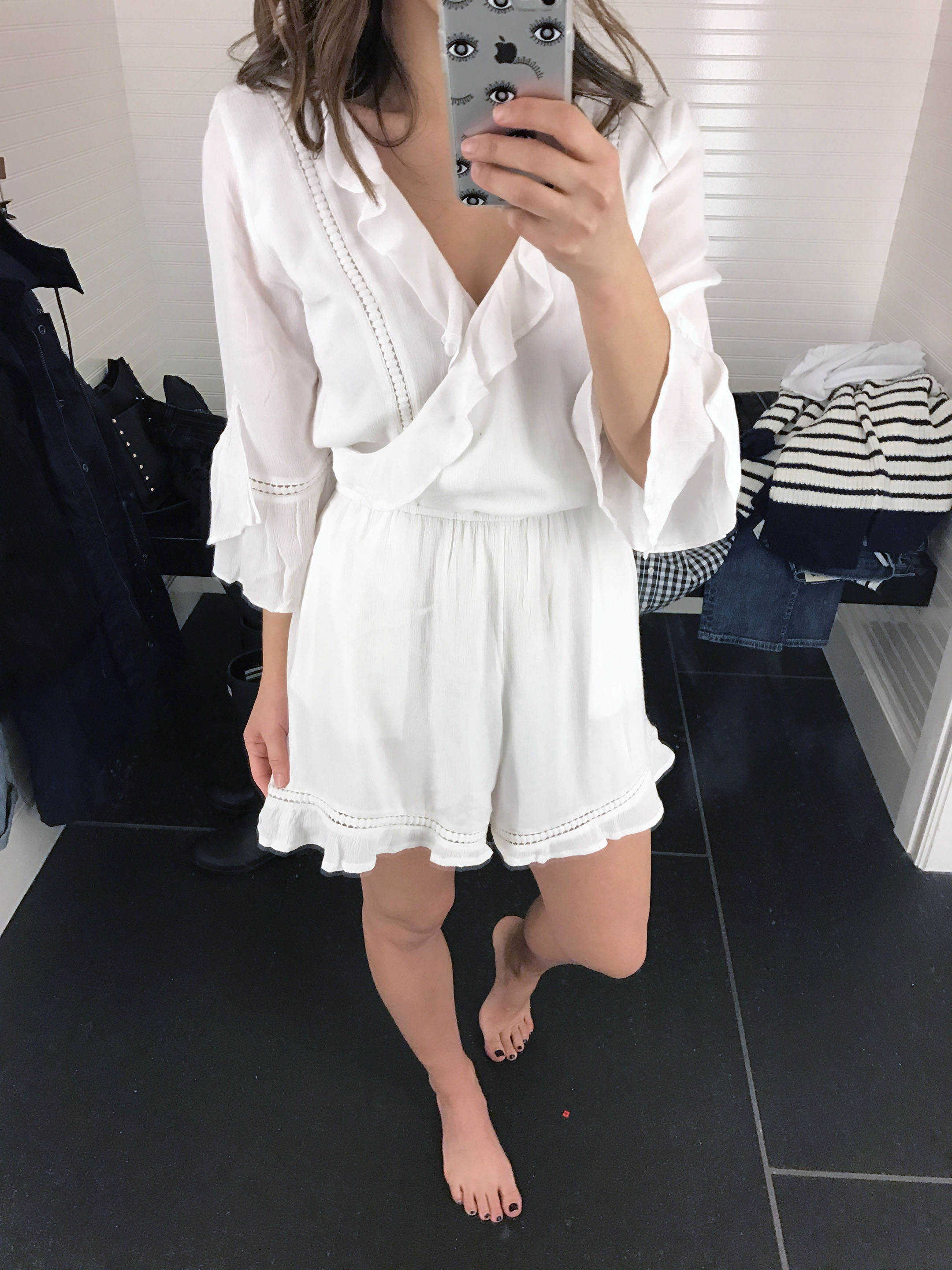 abercrombie & Fitch lace romper 2