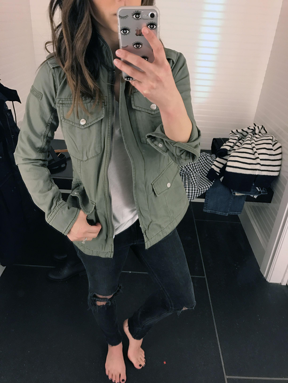 abercrombie & fitch twill jacket
