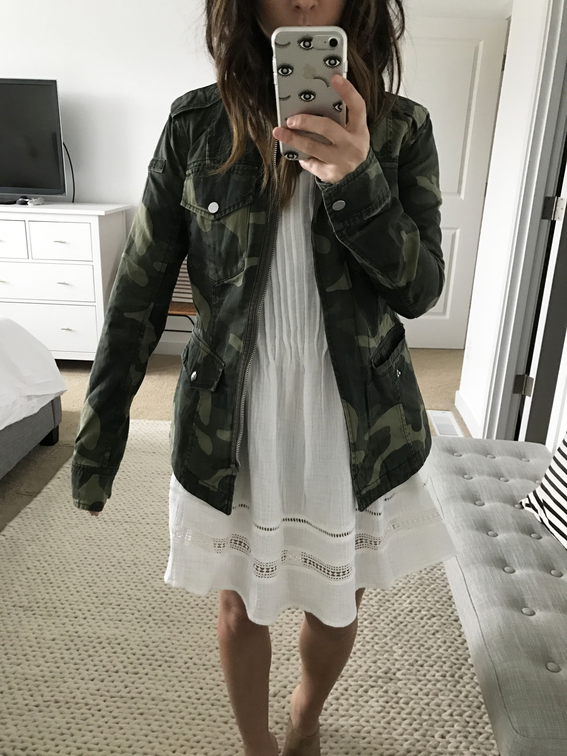 Abercrombie & Fitch camo jacket 2