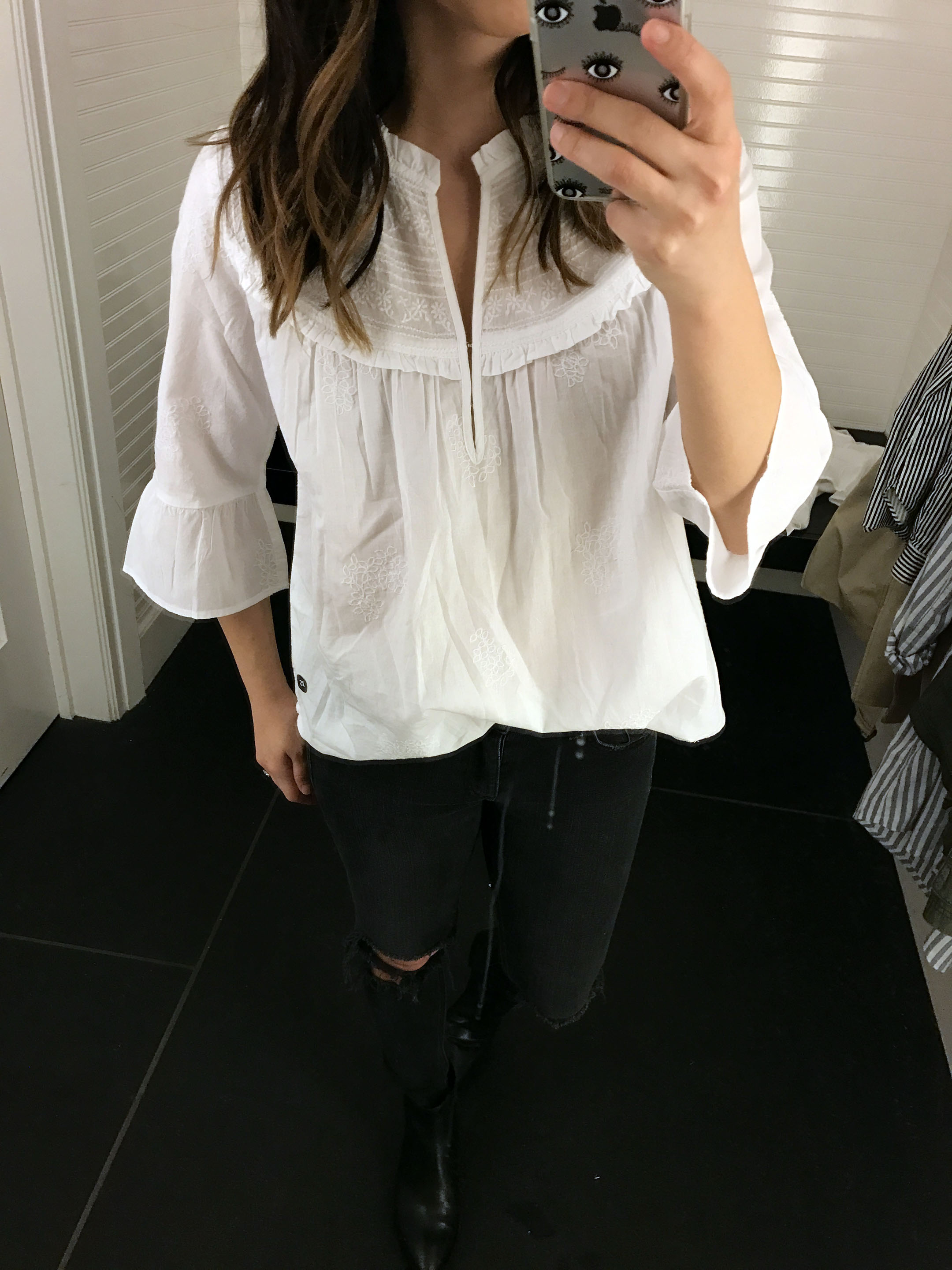 Abercrombie & Fitch embroidered blouse 2