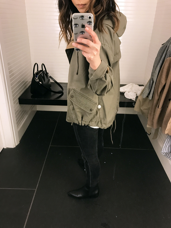 Abercrombie & Fitch utility jacket 1