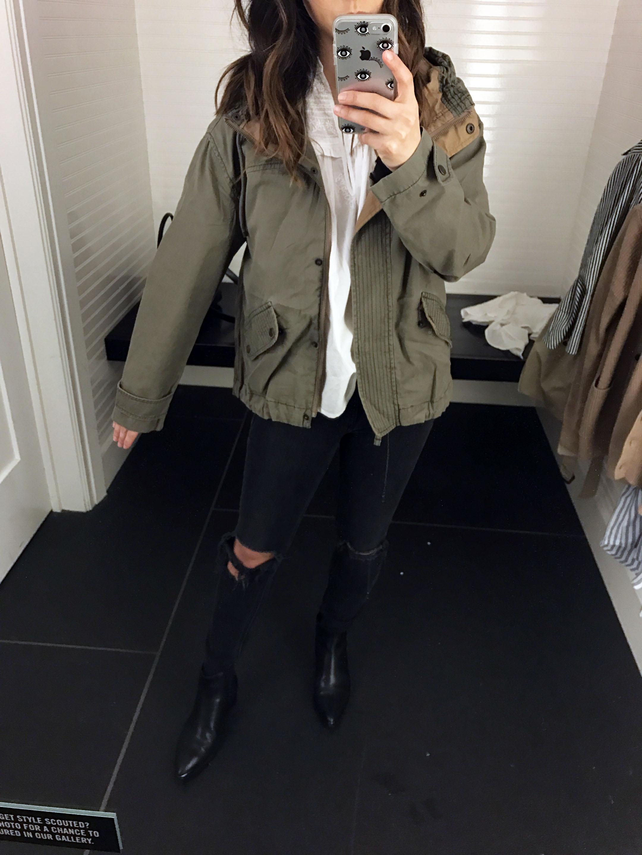 Abercrombie & Fitch utility jacket 2