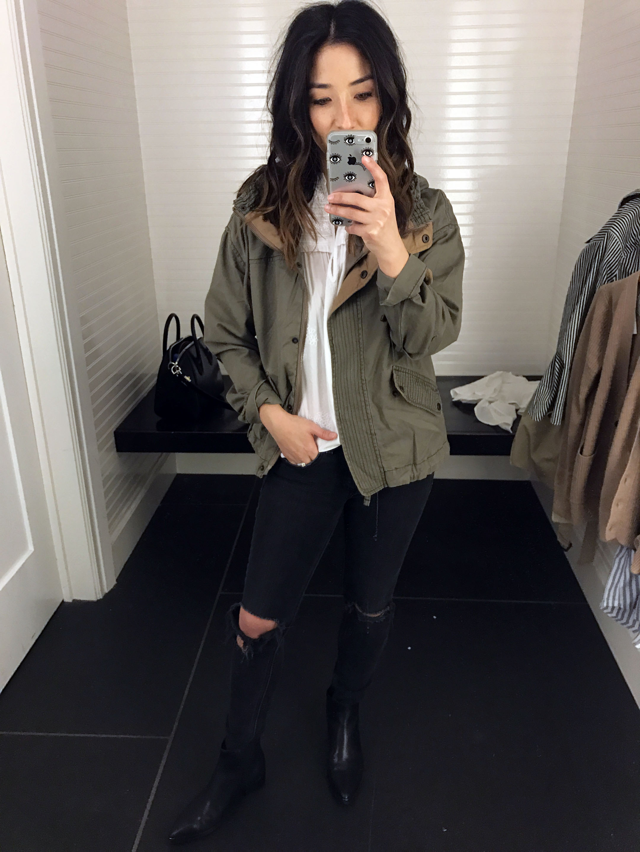 Abercrombie & Fitch utility jacket 3
