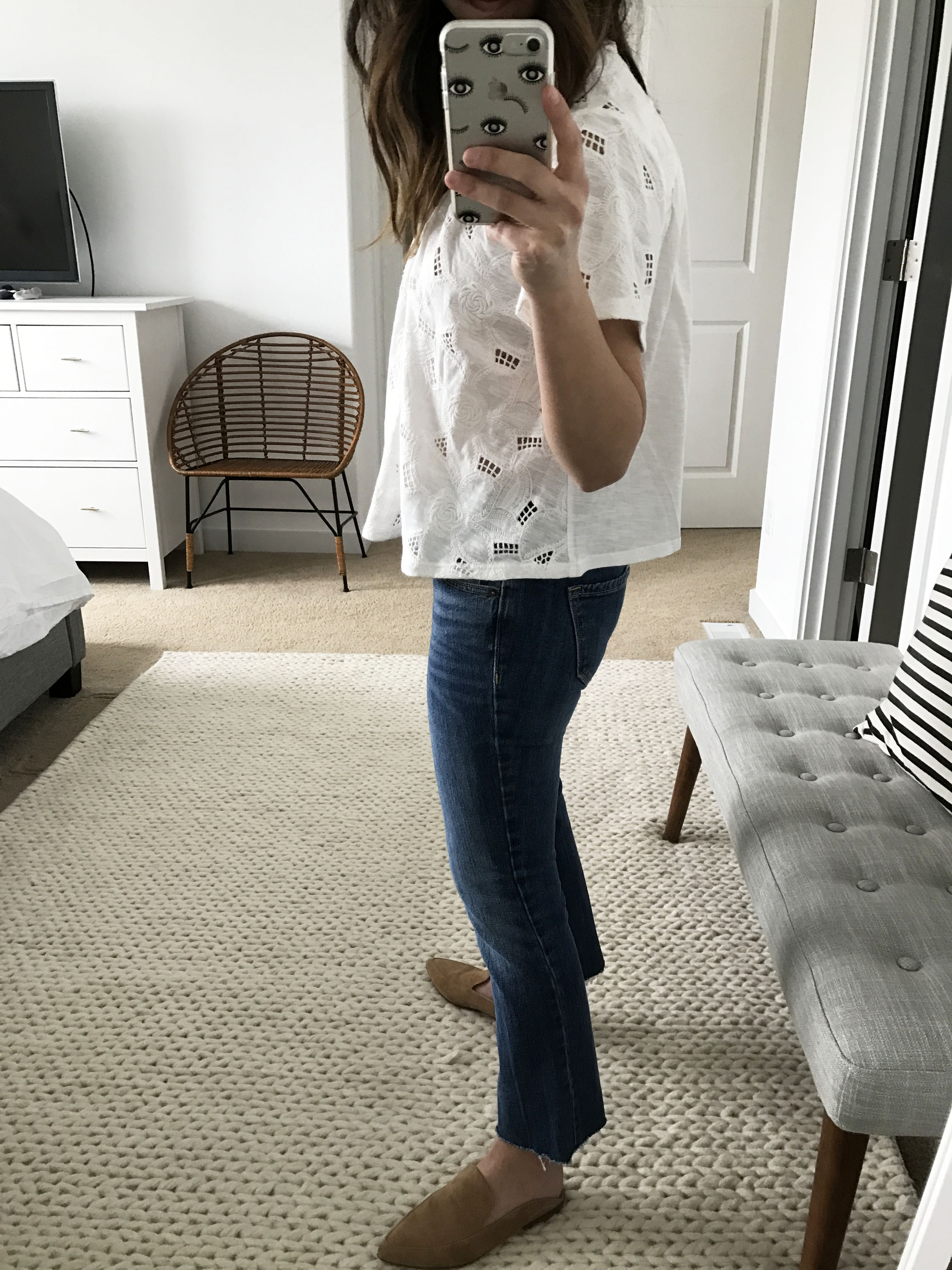 Anthropologie embroidered top 4