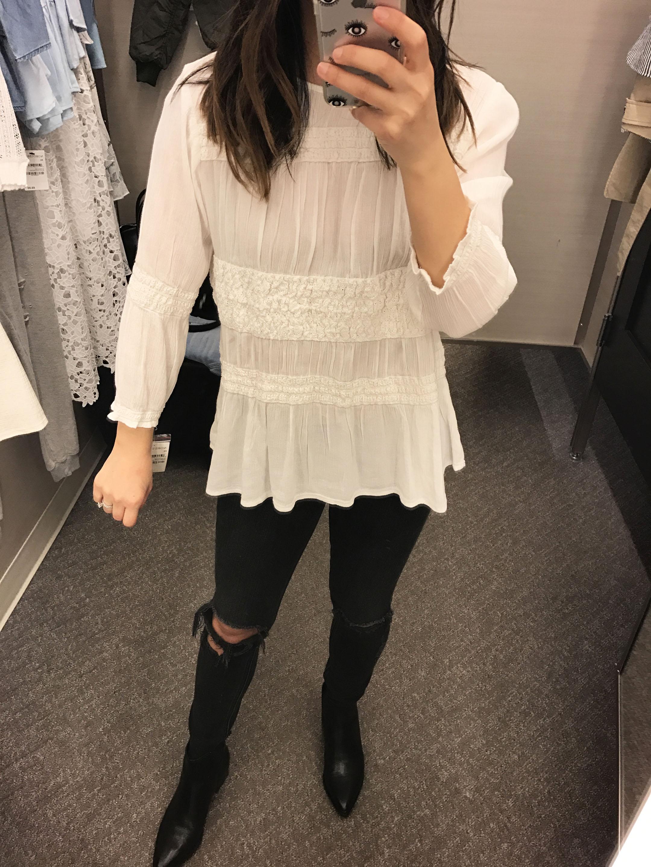 Hinge blouse