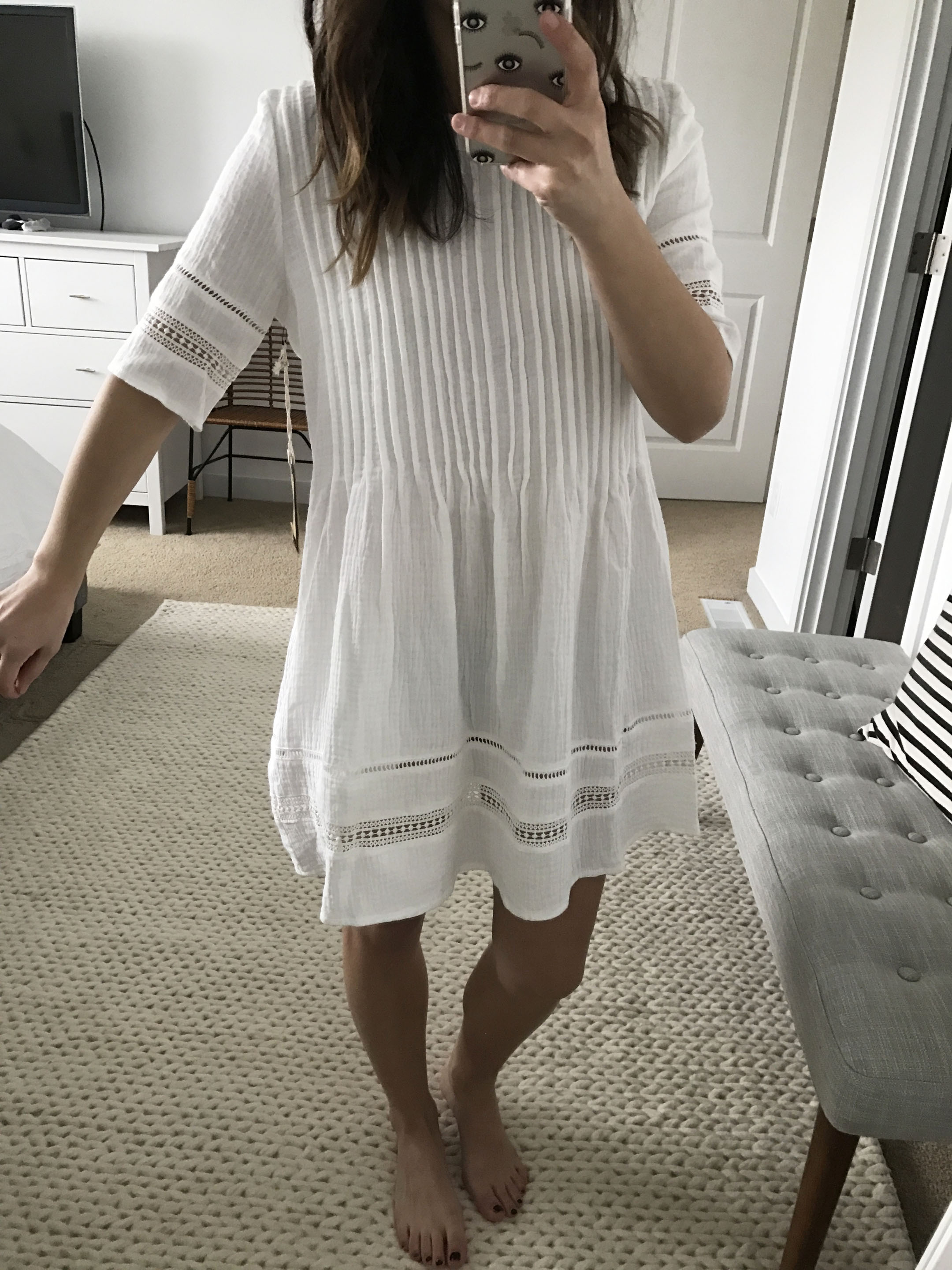 Knot Sisters embroidered dress 1