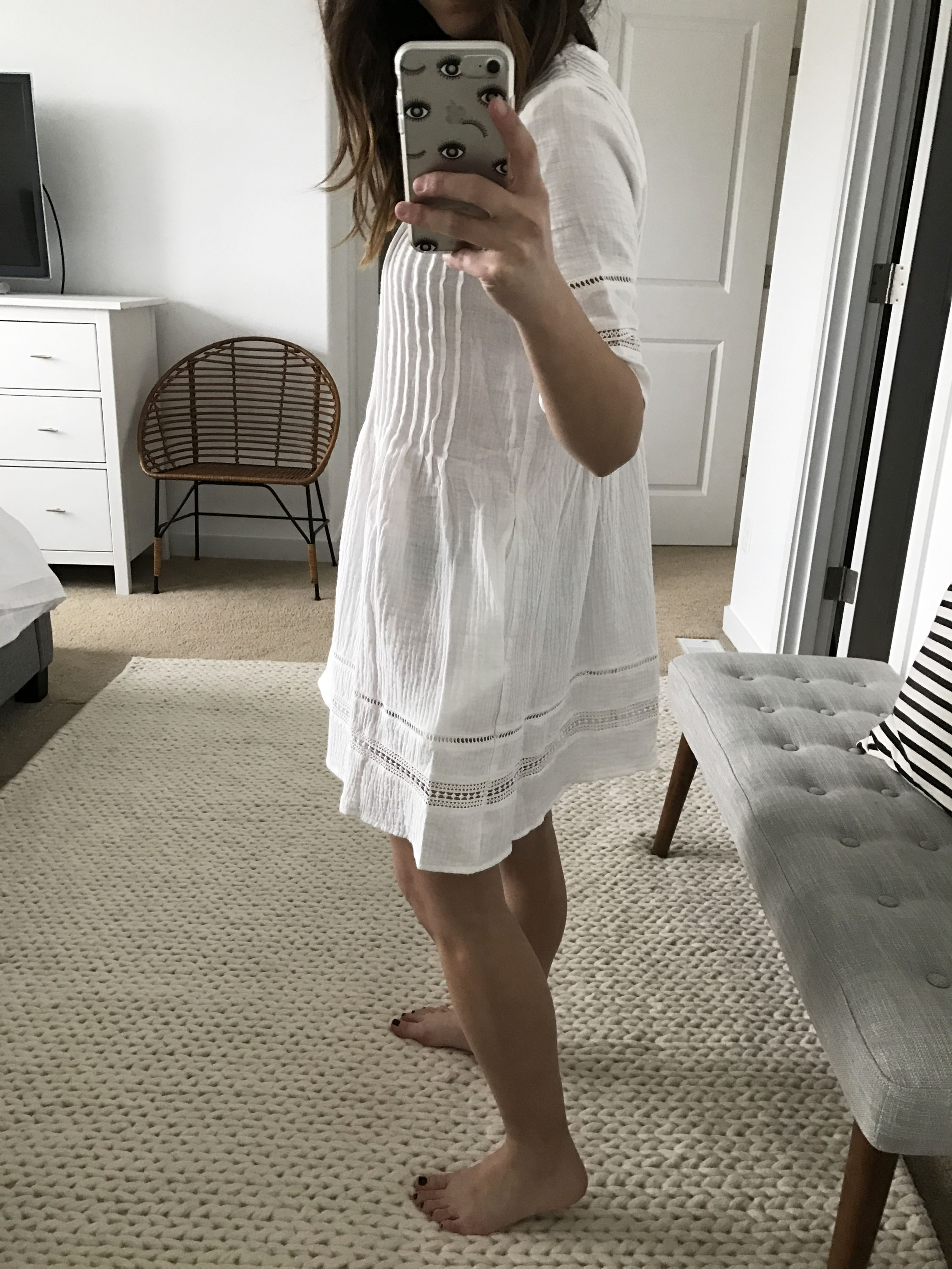Knot Sisters Embroidered dress