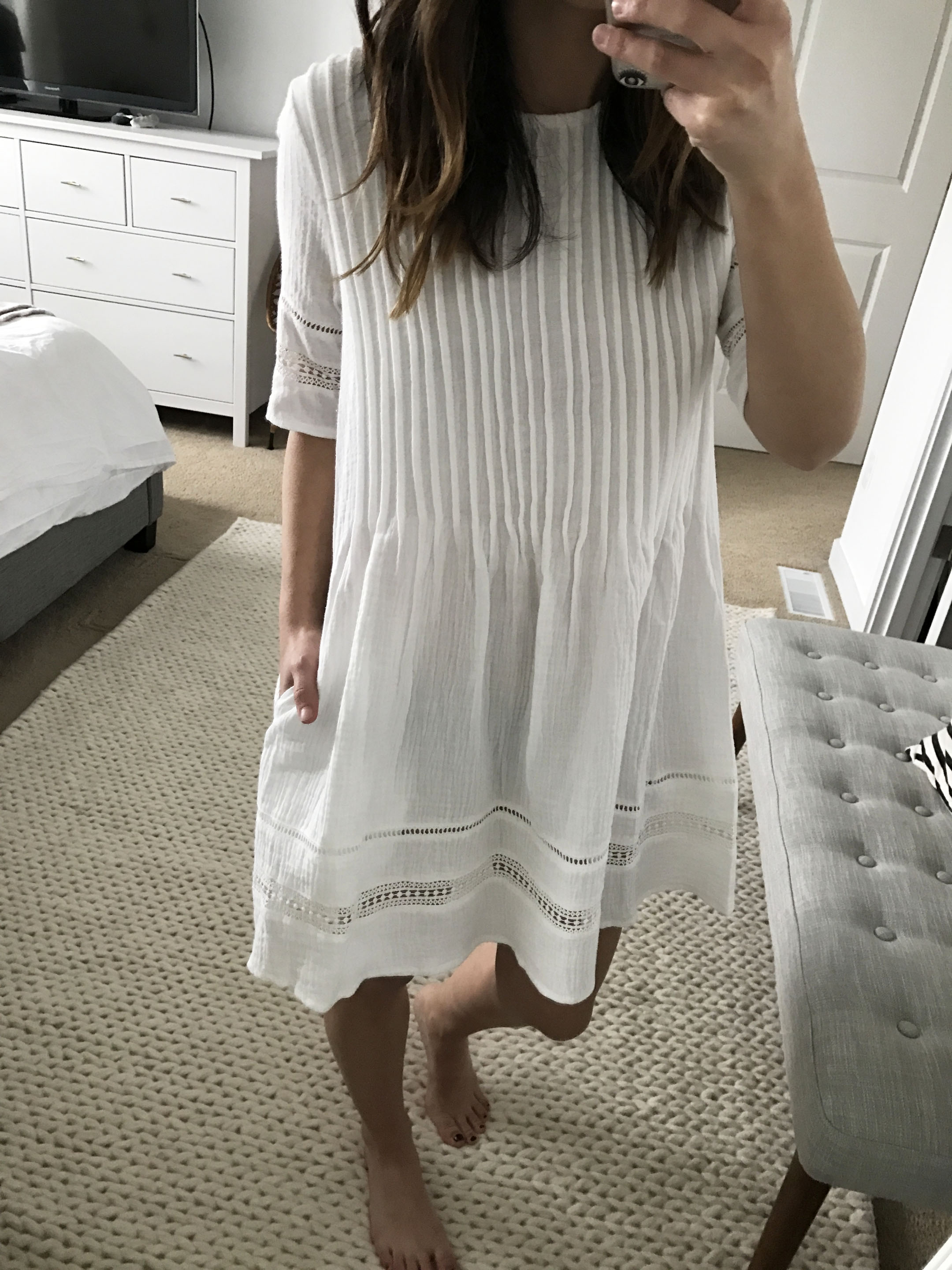 Knot Sisters embroidered dress 3