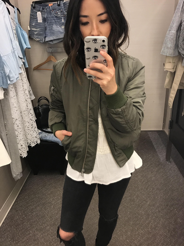 Madewell bomber jacket 2