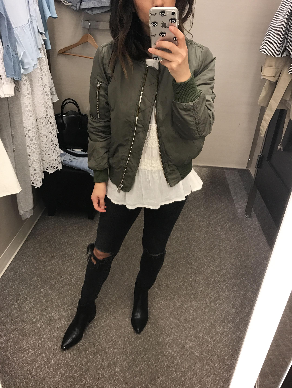 Madewell bomber jacket 3