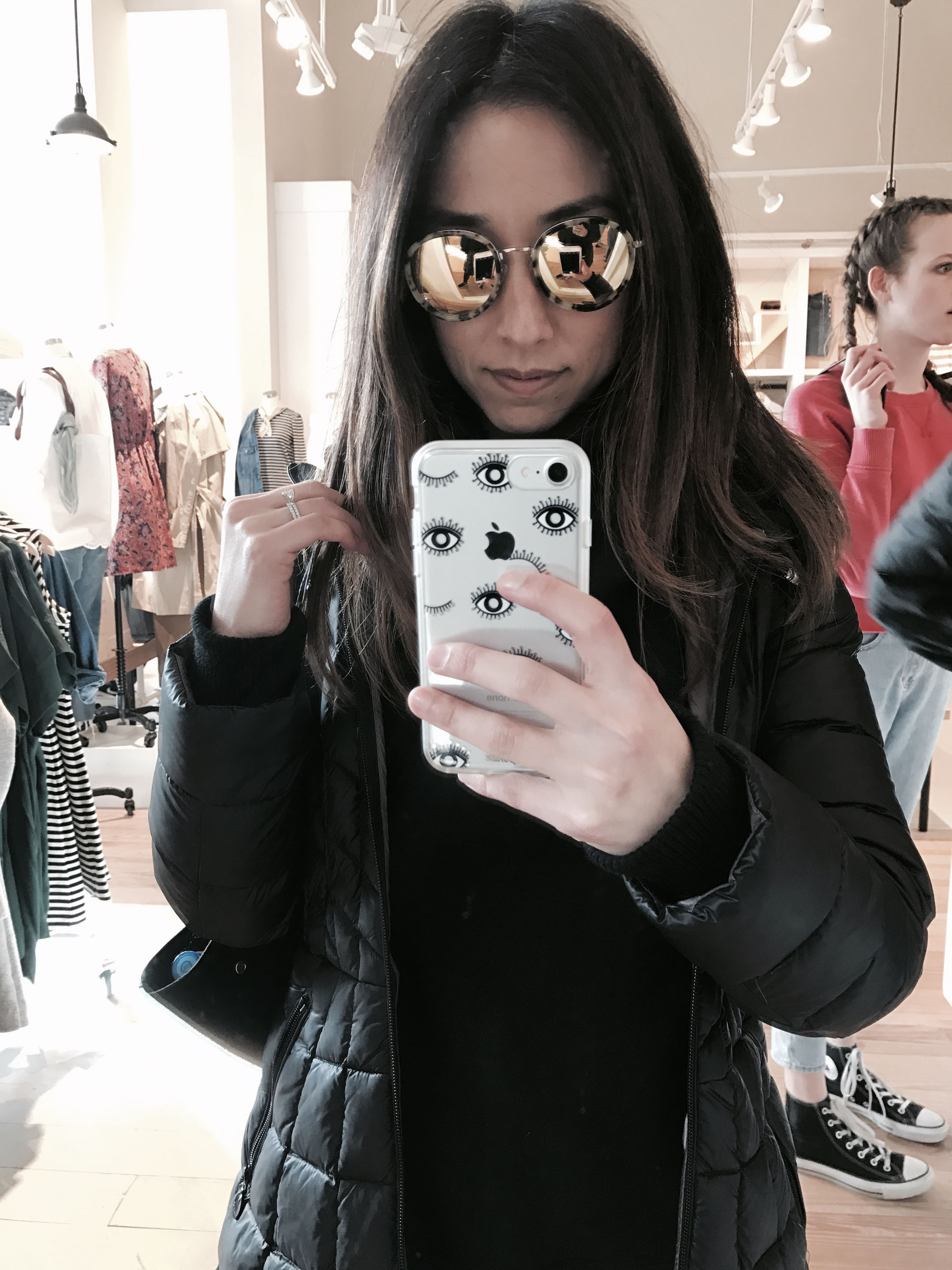 Madewell mirrored sunglasses