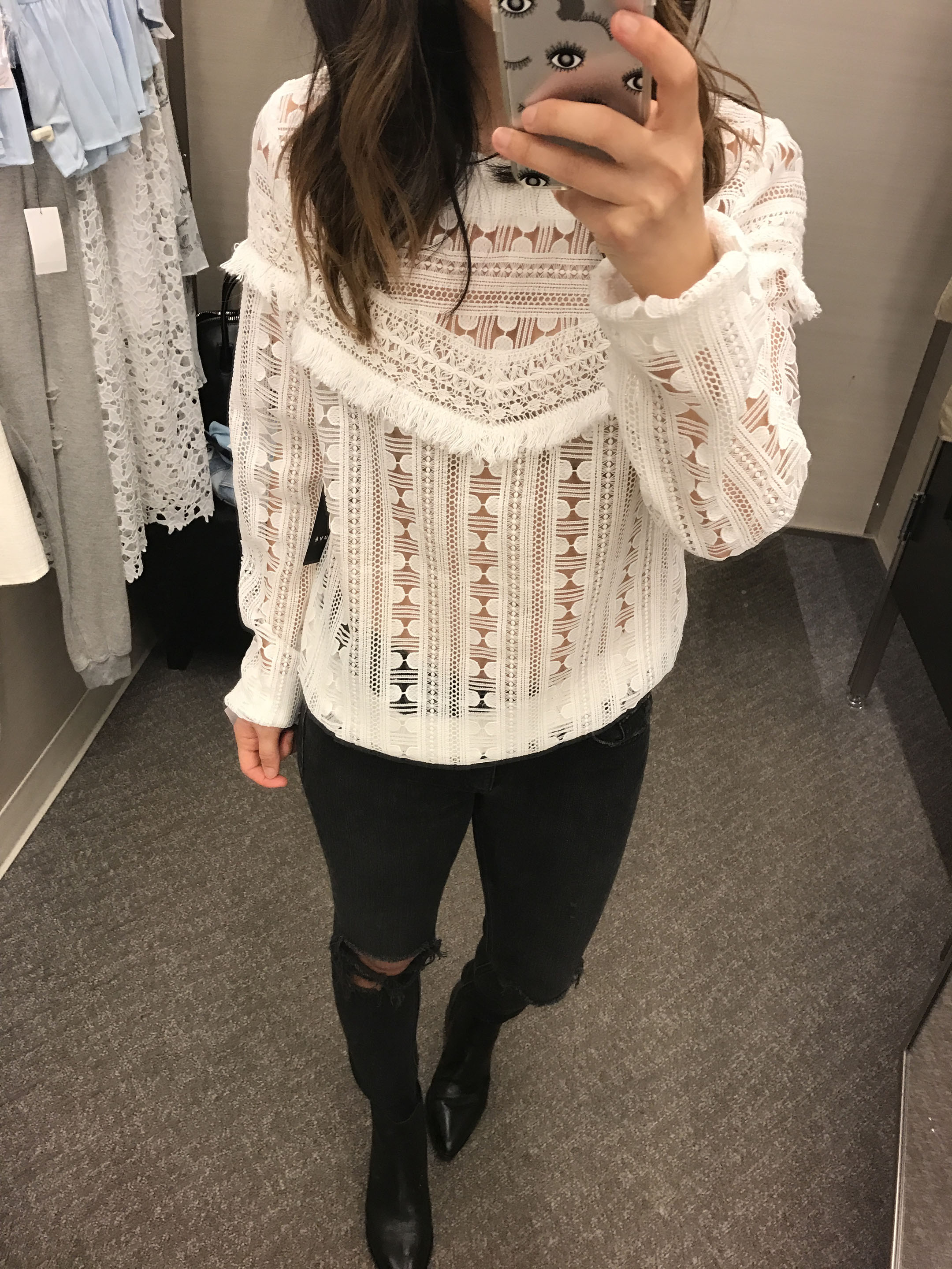 Trouve lace sweater 2